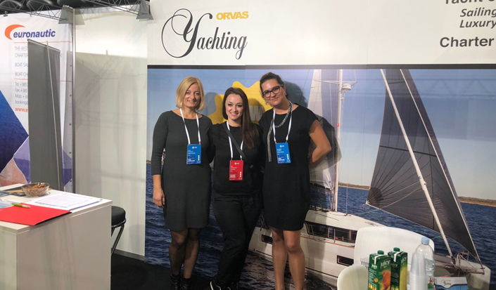International Charter Expo 2018 - with our partners Orvas Yachting