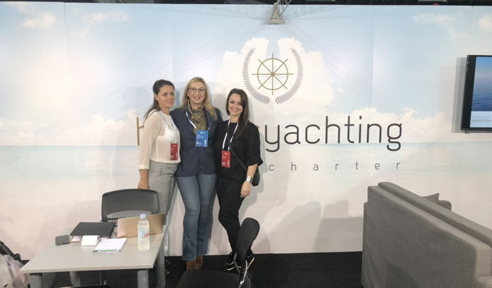 International Charter Expo 2018 - with our partners Hermes Yachting