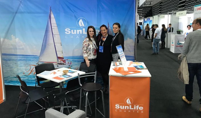 International Charter Expo 2018 - with our partners Sun Life