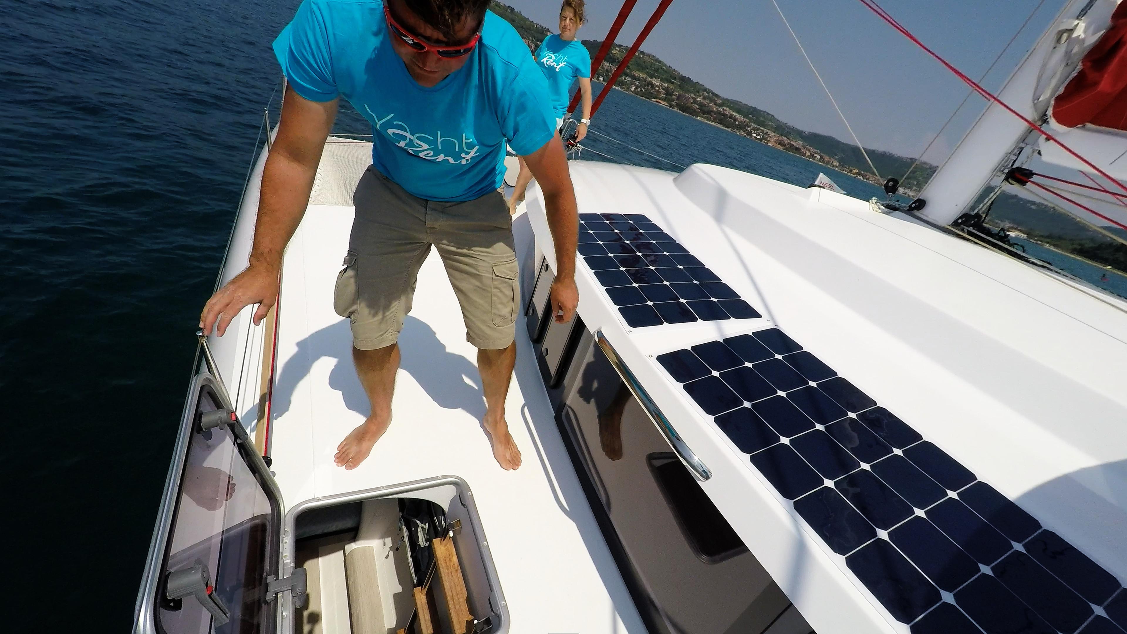 equipaggio alloggi boccaporto neel 45 trimarano yacht