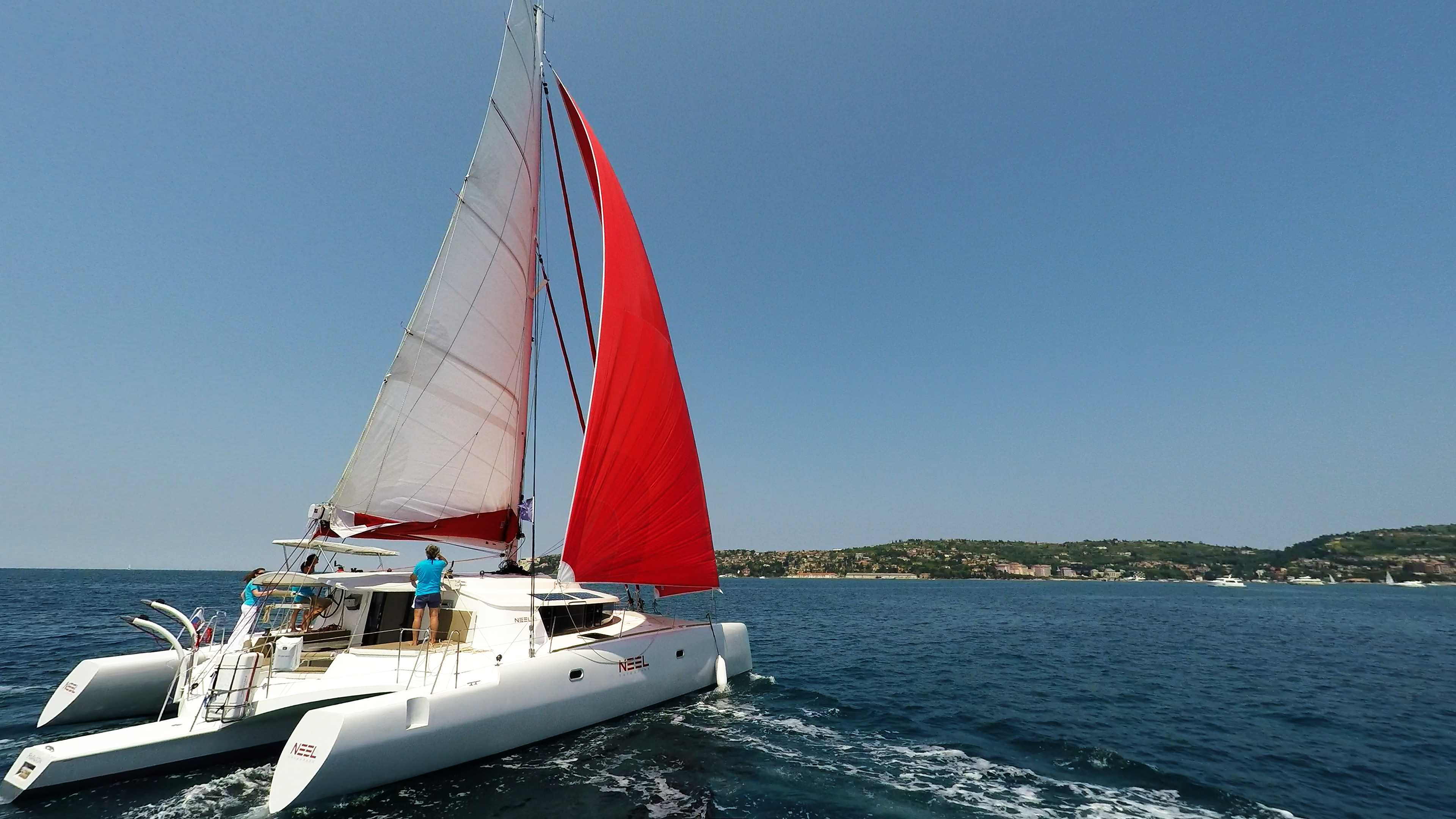 multiscafo barca a vela neel 45