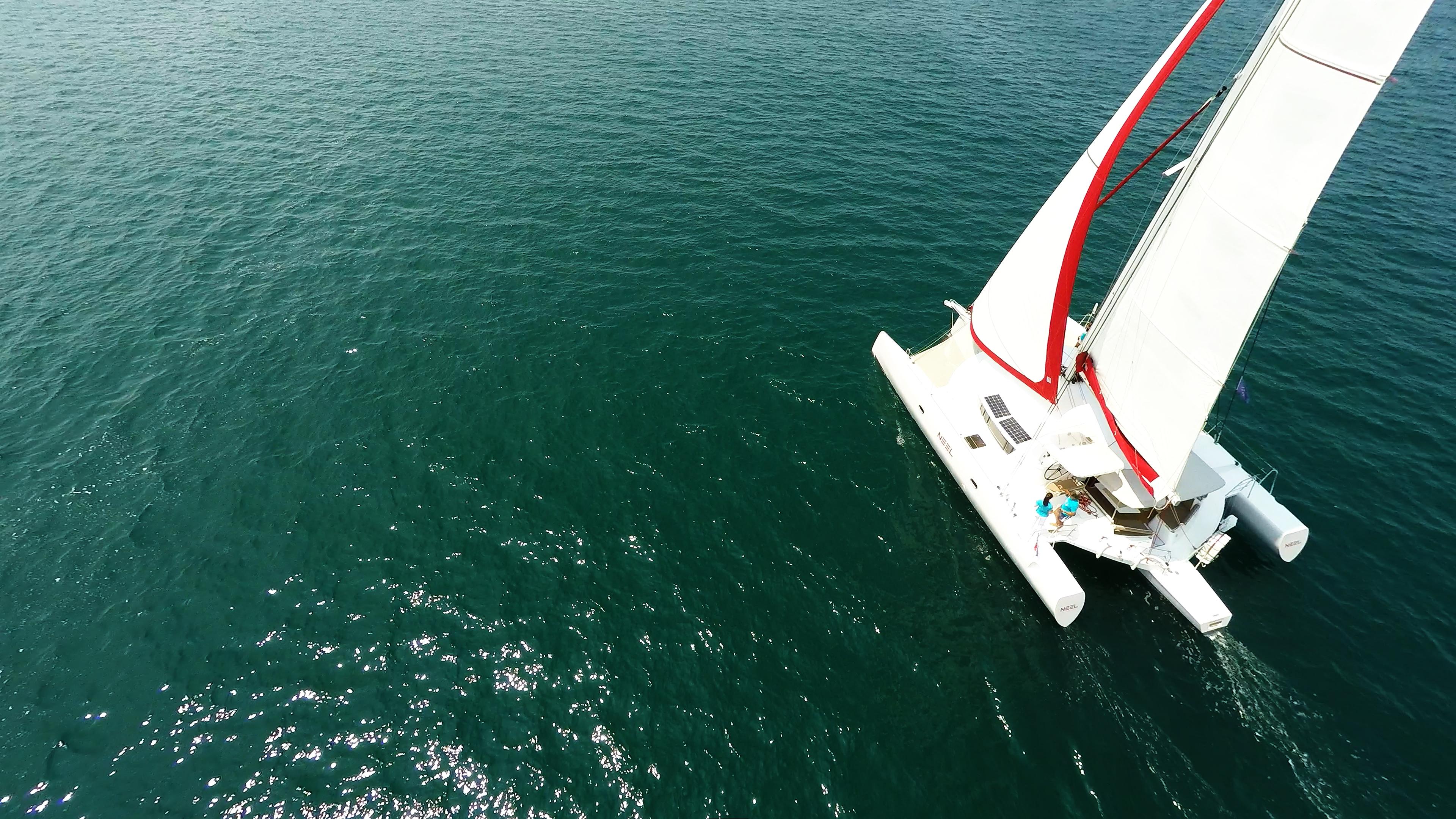 multiscafo barca a vela trimarano neel 45