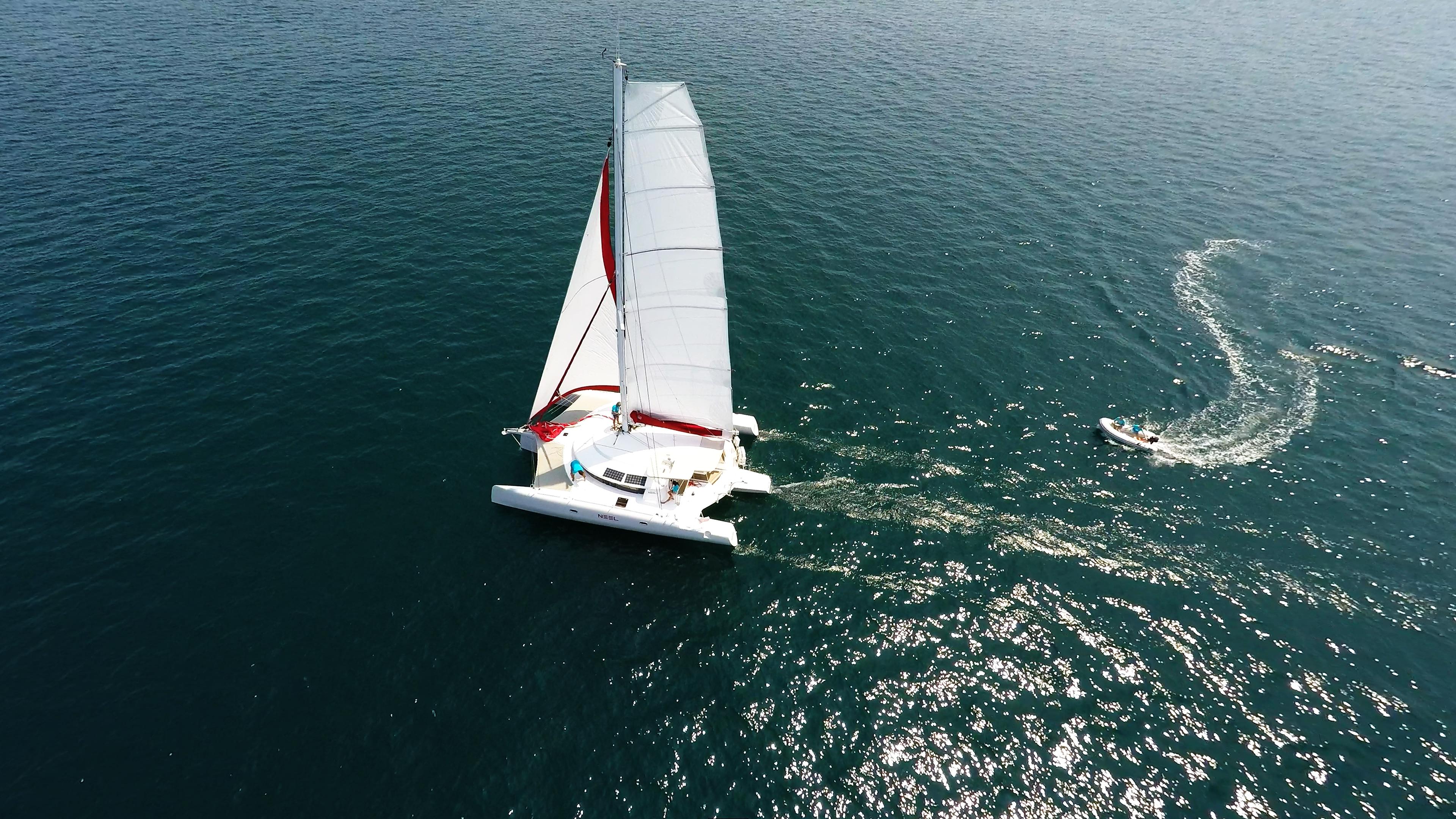 multiscafo neel 45 veleggiare e tender