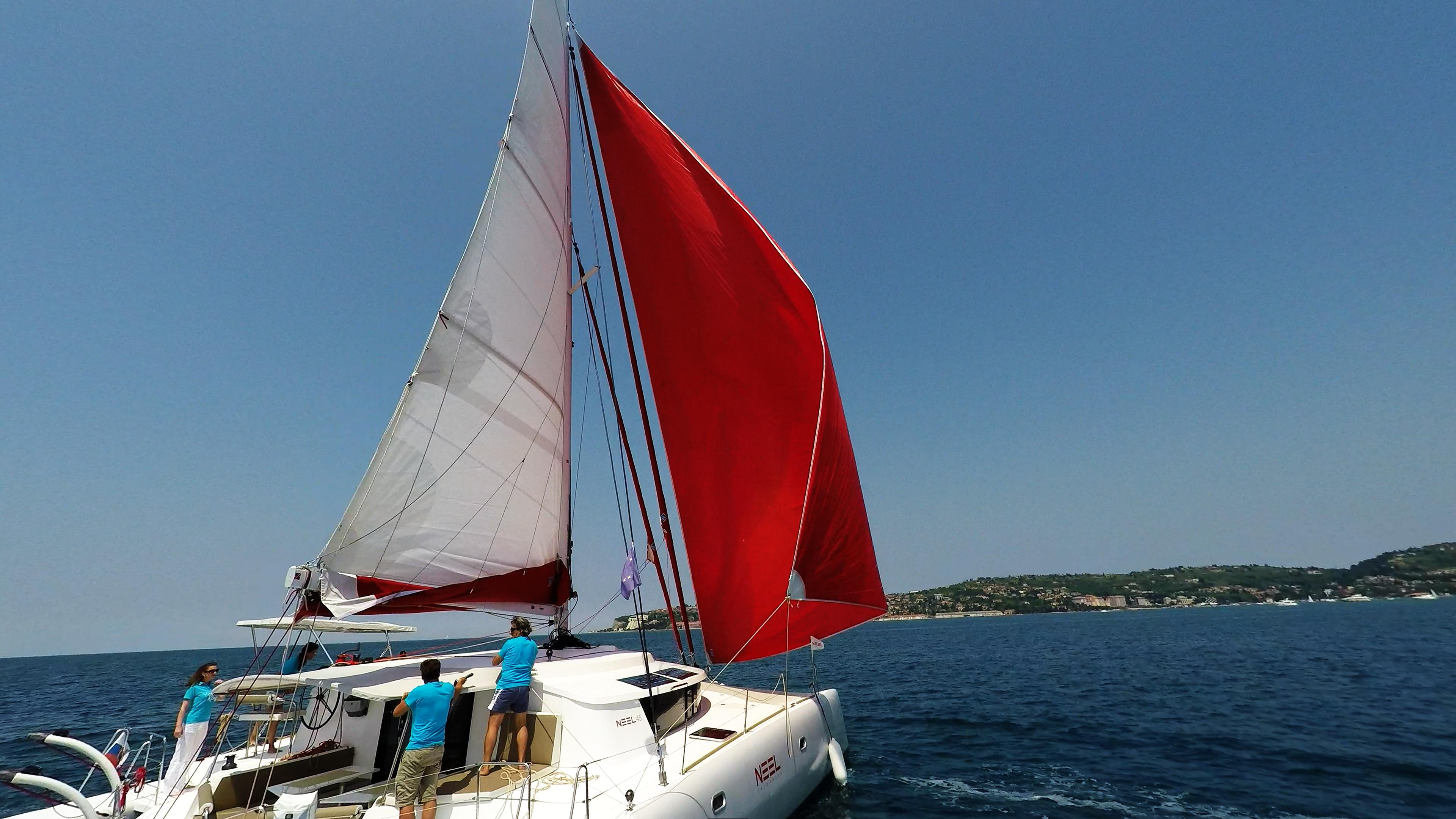 neel 45 gennaker barca a vela