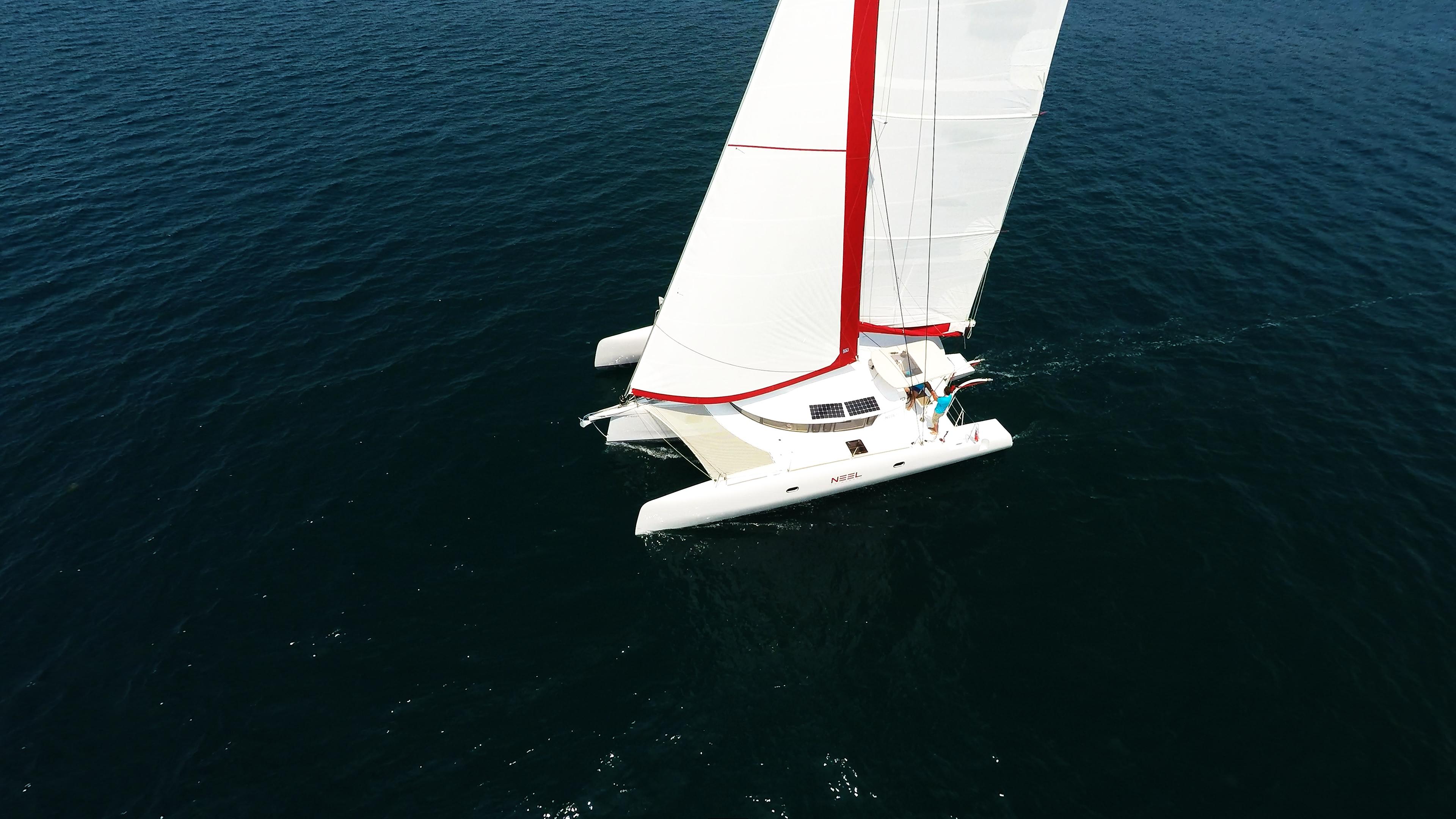 neel 45 trimarano a vela yacht