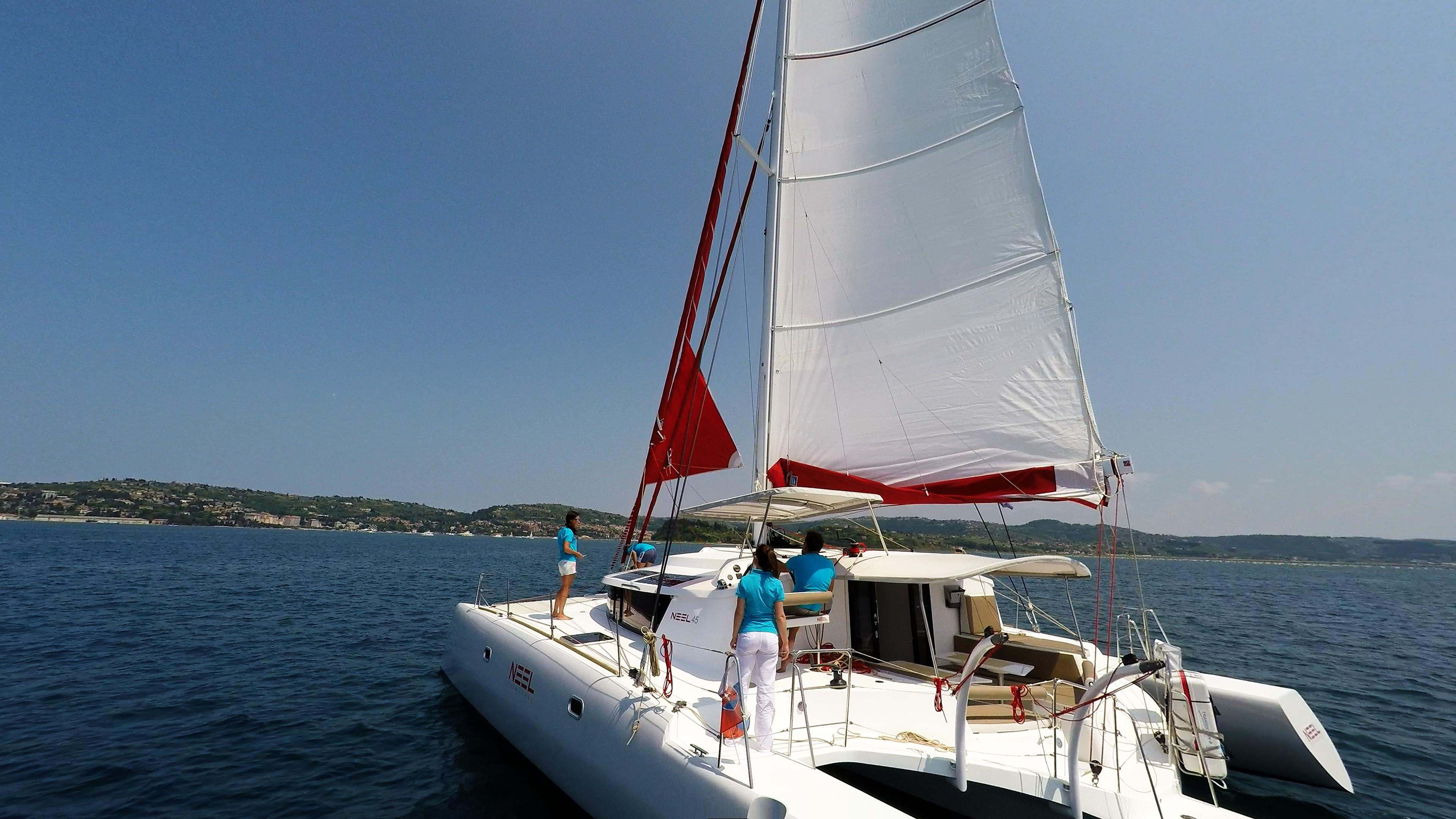 neel 45 trimarano yacht