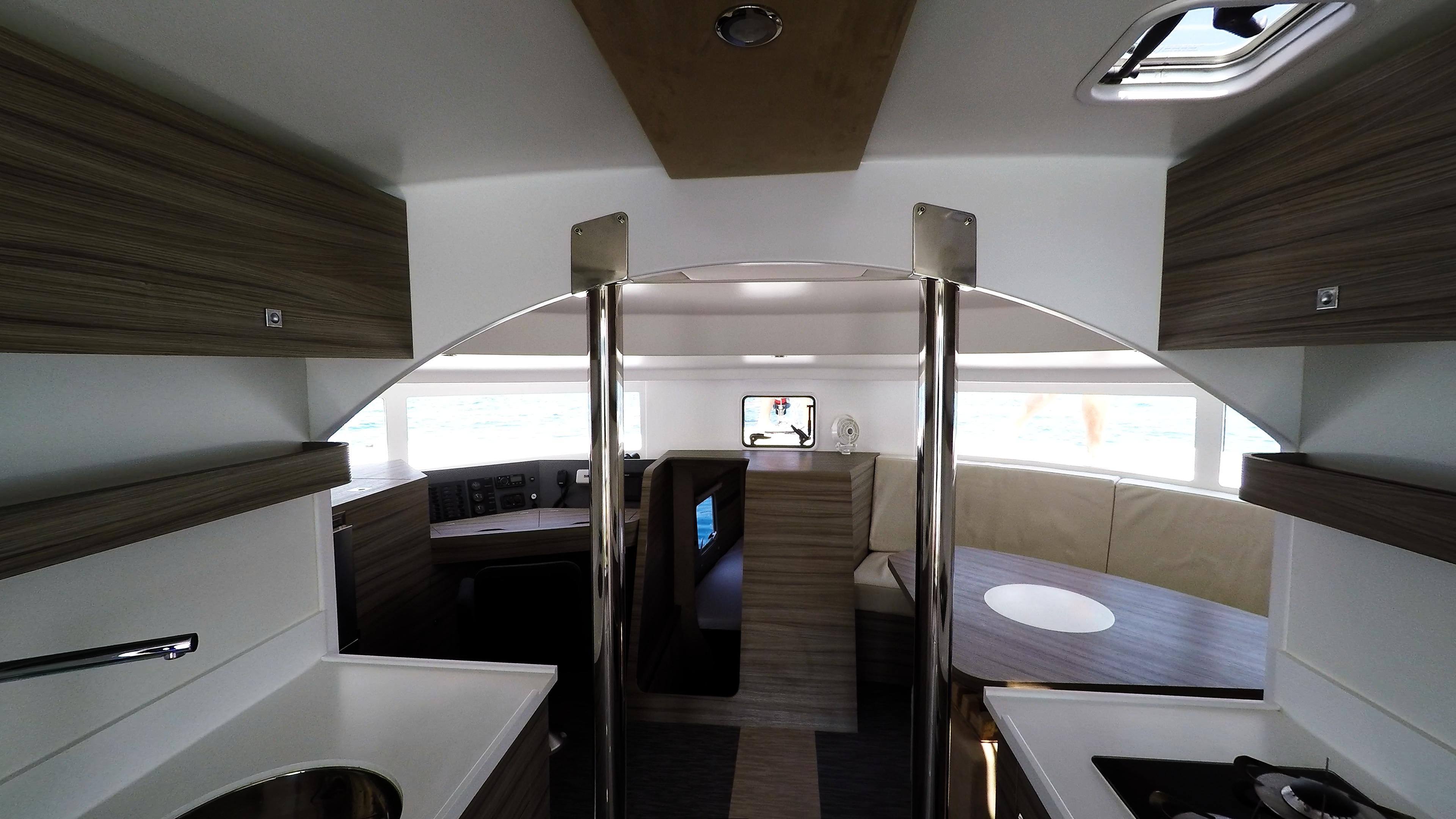 salone neel 45 trimarano yacht