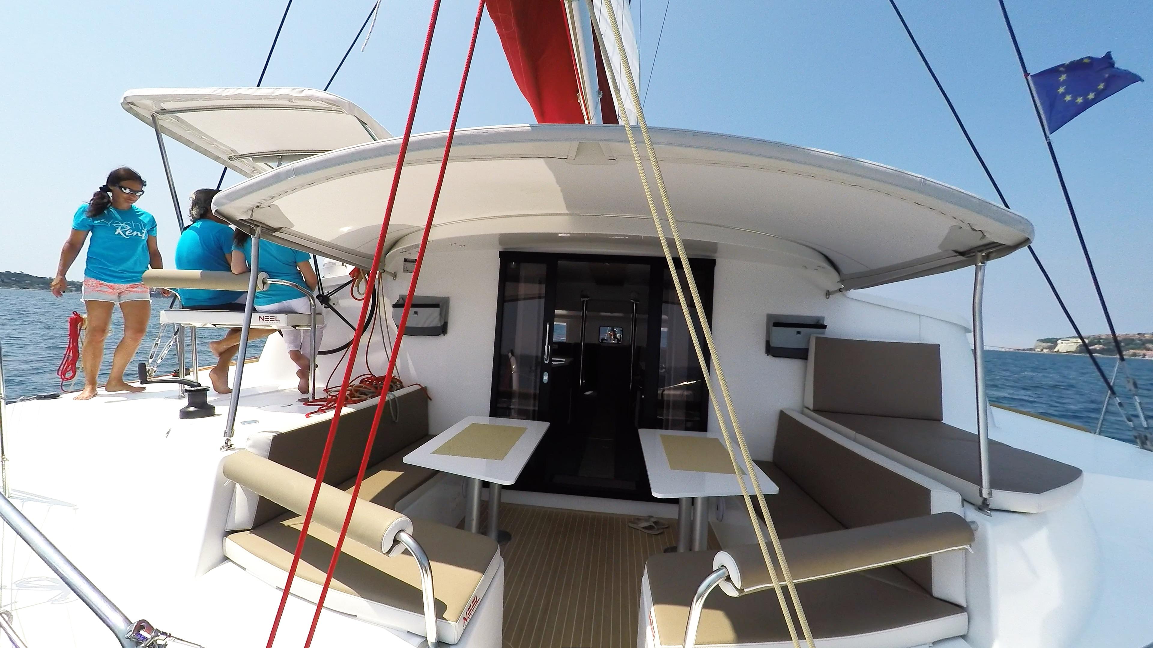 poppa cockpit trimarano yacht neel 45 1