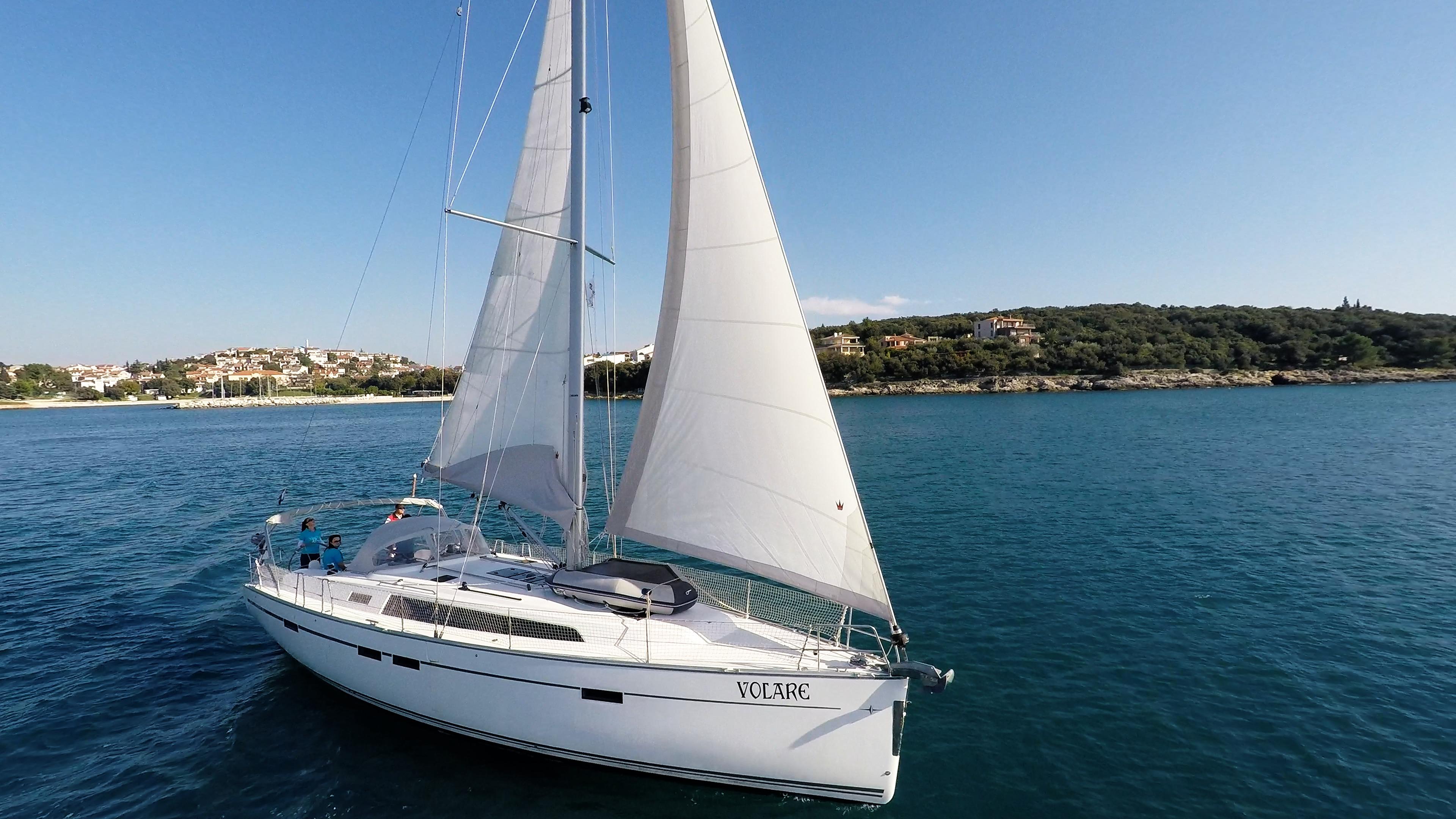 barcha a vela bavaria 46 cruiser yacht a vela baia Croazia
