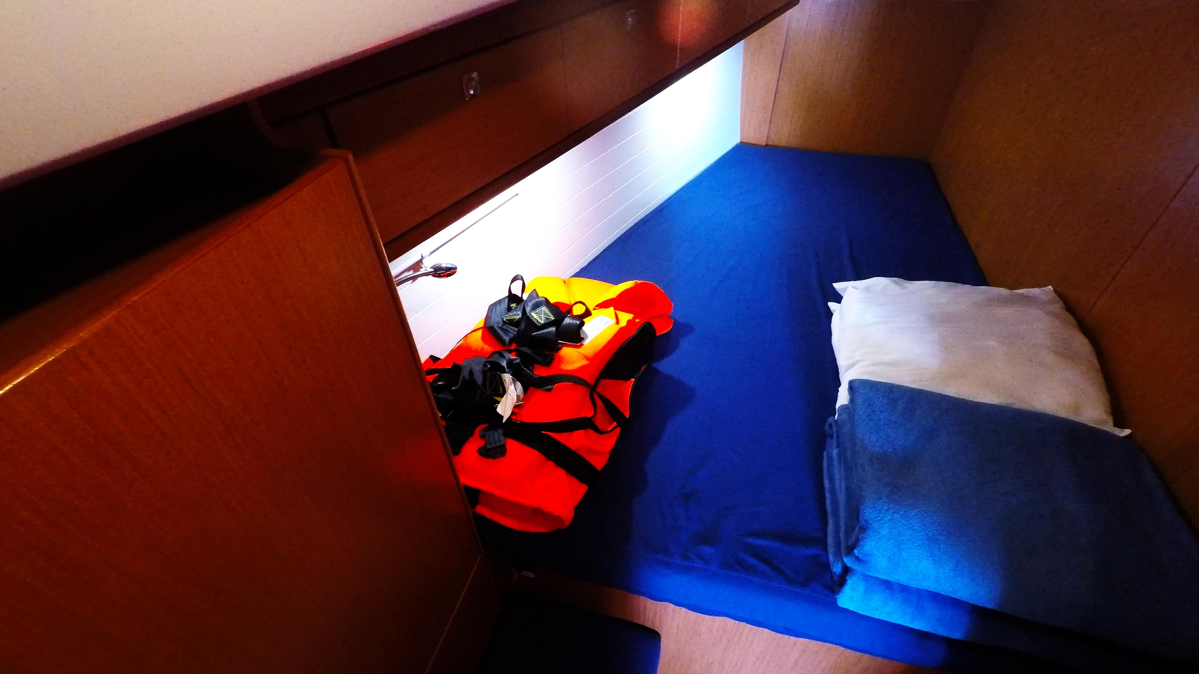 barcha a vela bavaria 46 cruiser yacht a vela interno cabina anteriore sinistra