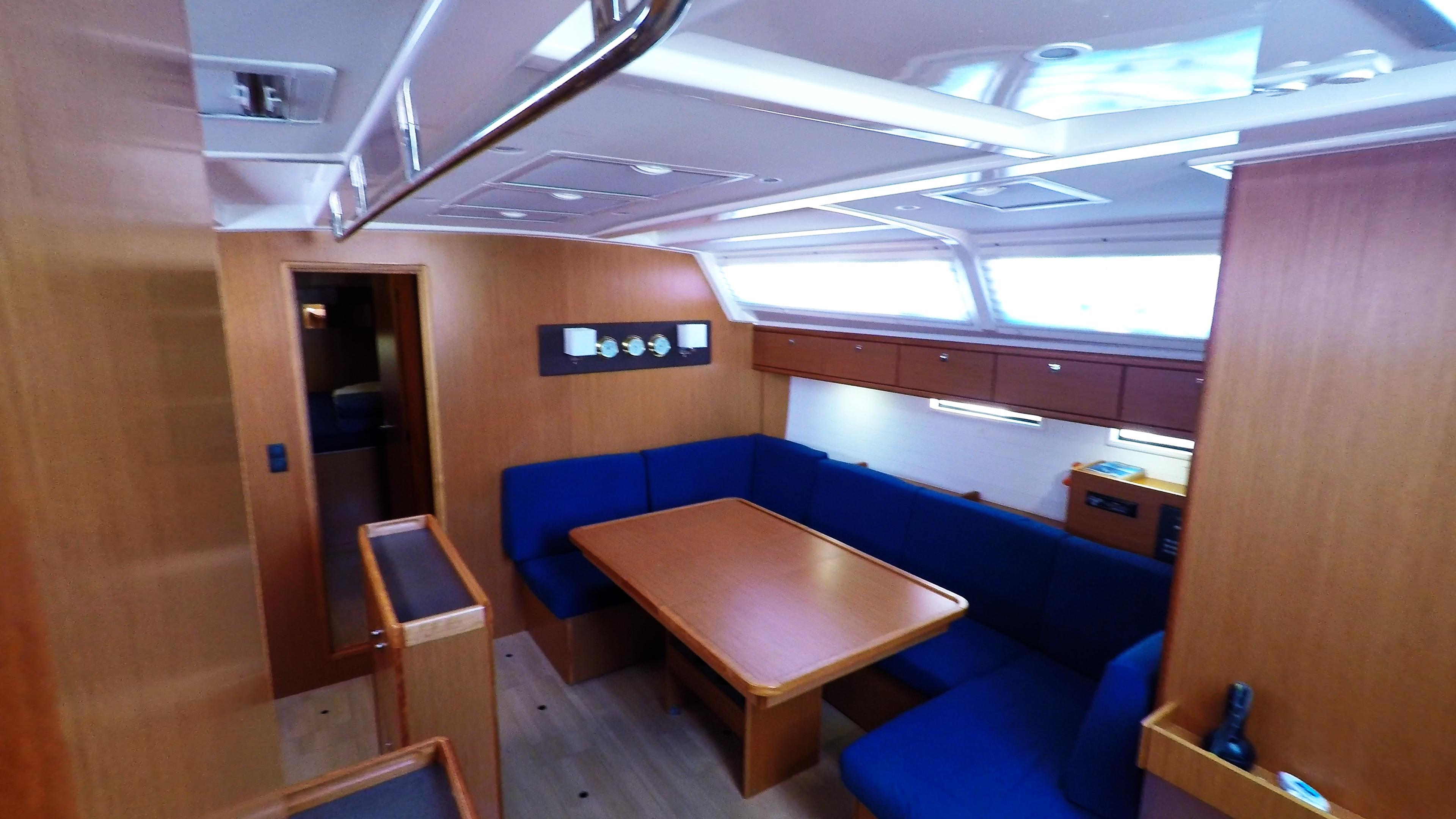 barcha a vela bavaria 46 cruiser yacht a vela interno salonee salone