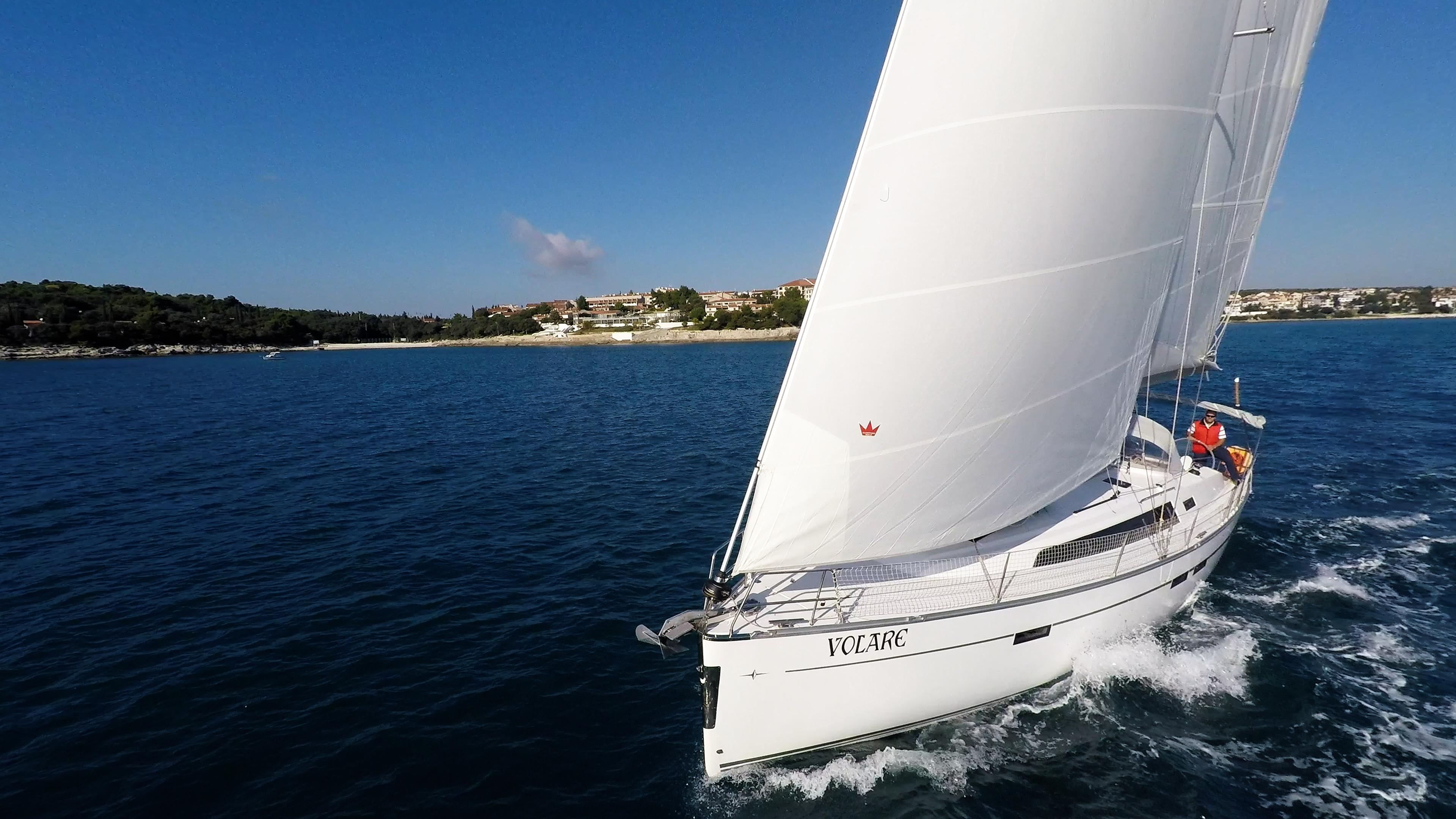barcha a vela bavaria 46 cruiser yacht a vela vela barca a vela mare cielo blu