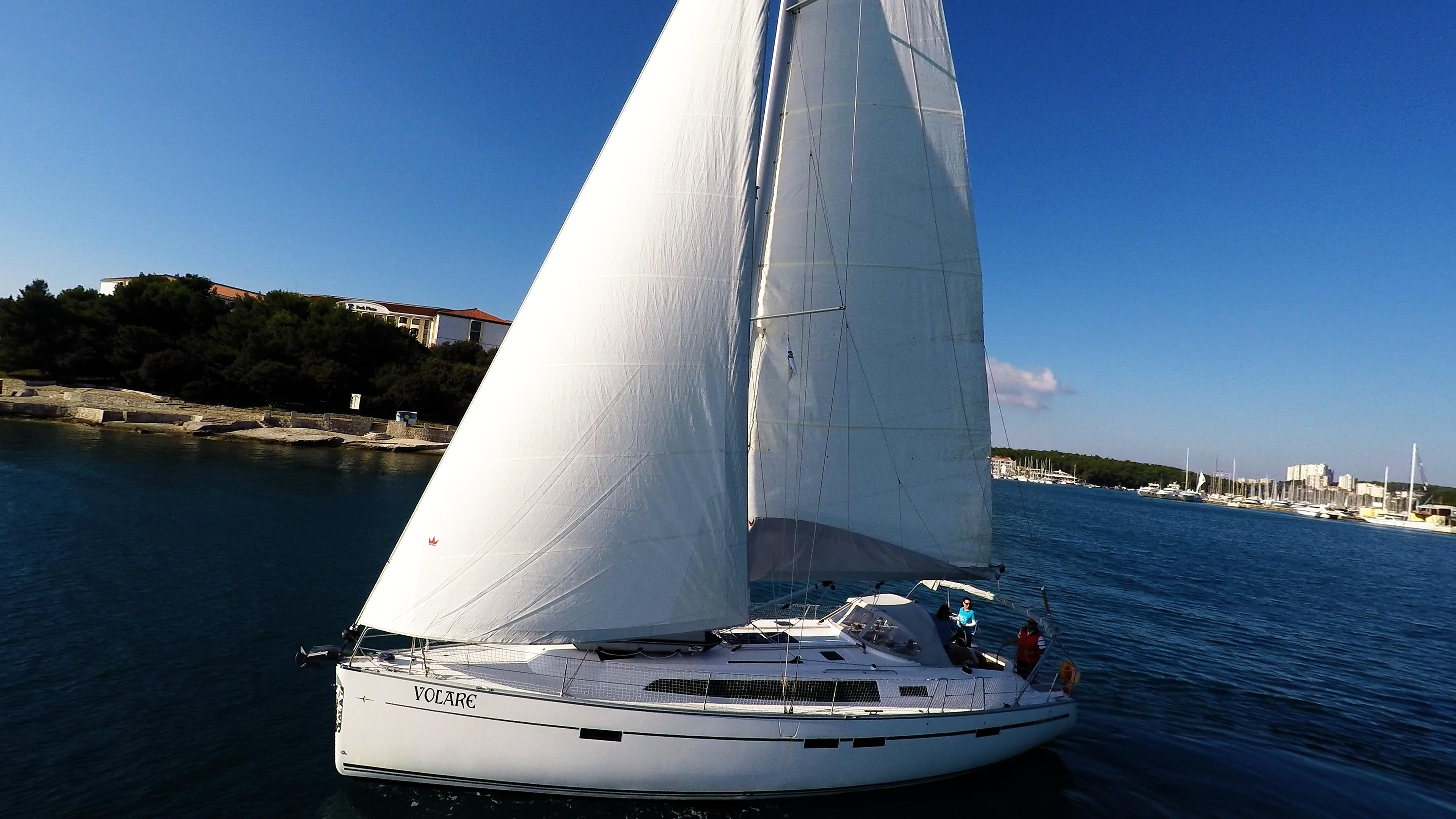 barcha a vela bavaria 46 cruiser yacht a vela vela