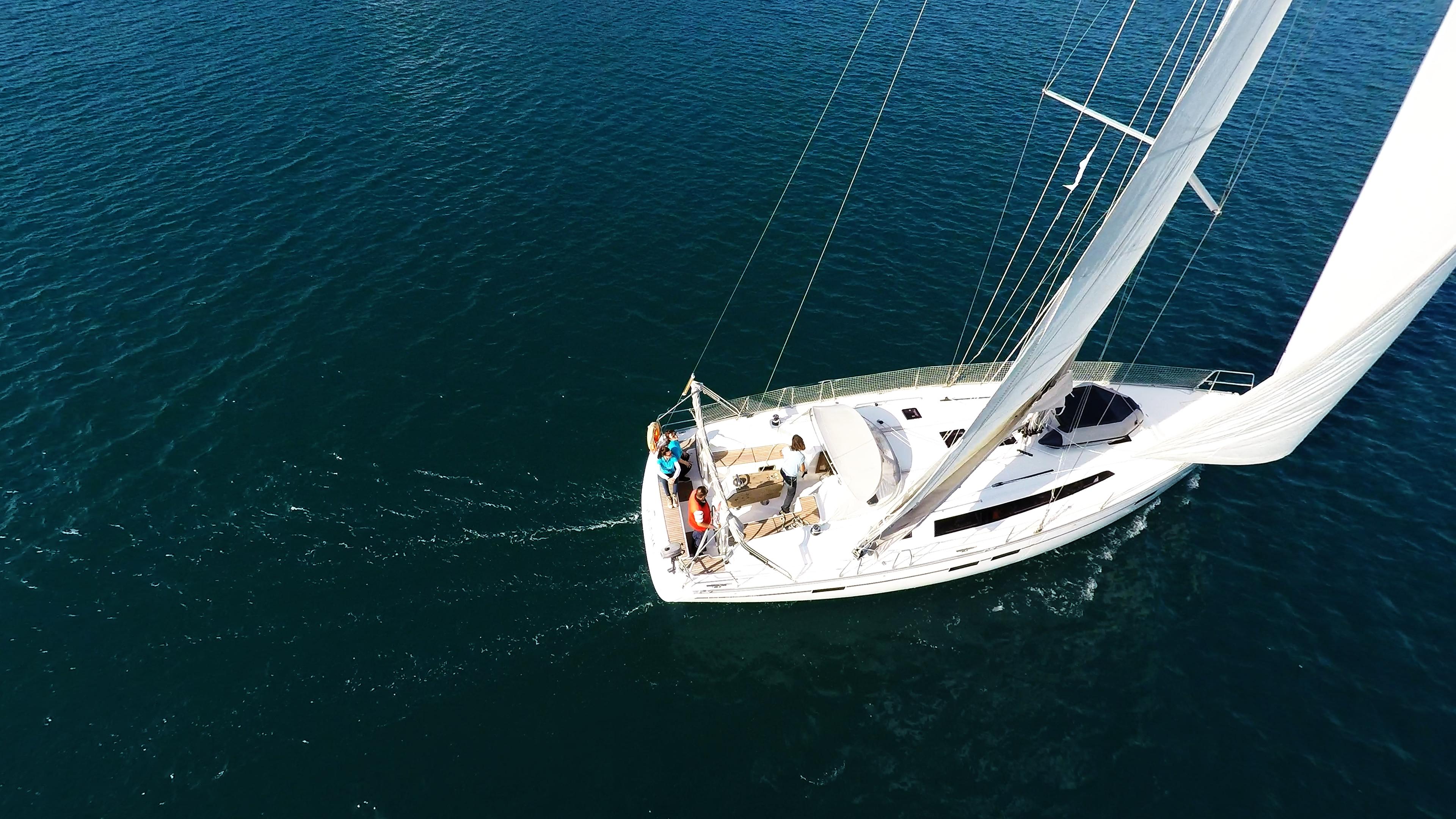 barcha a vela bavaria 46 ponte randa genova yacht a vela