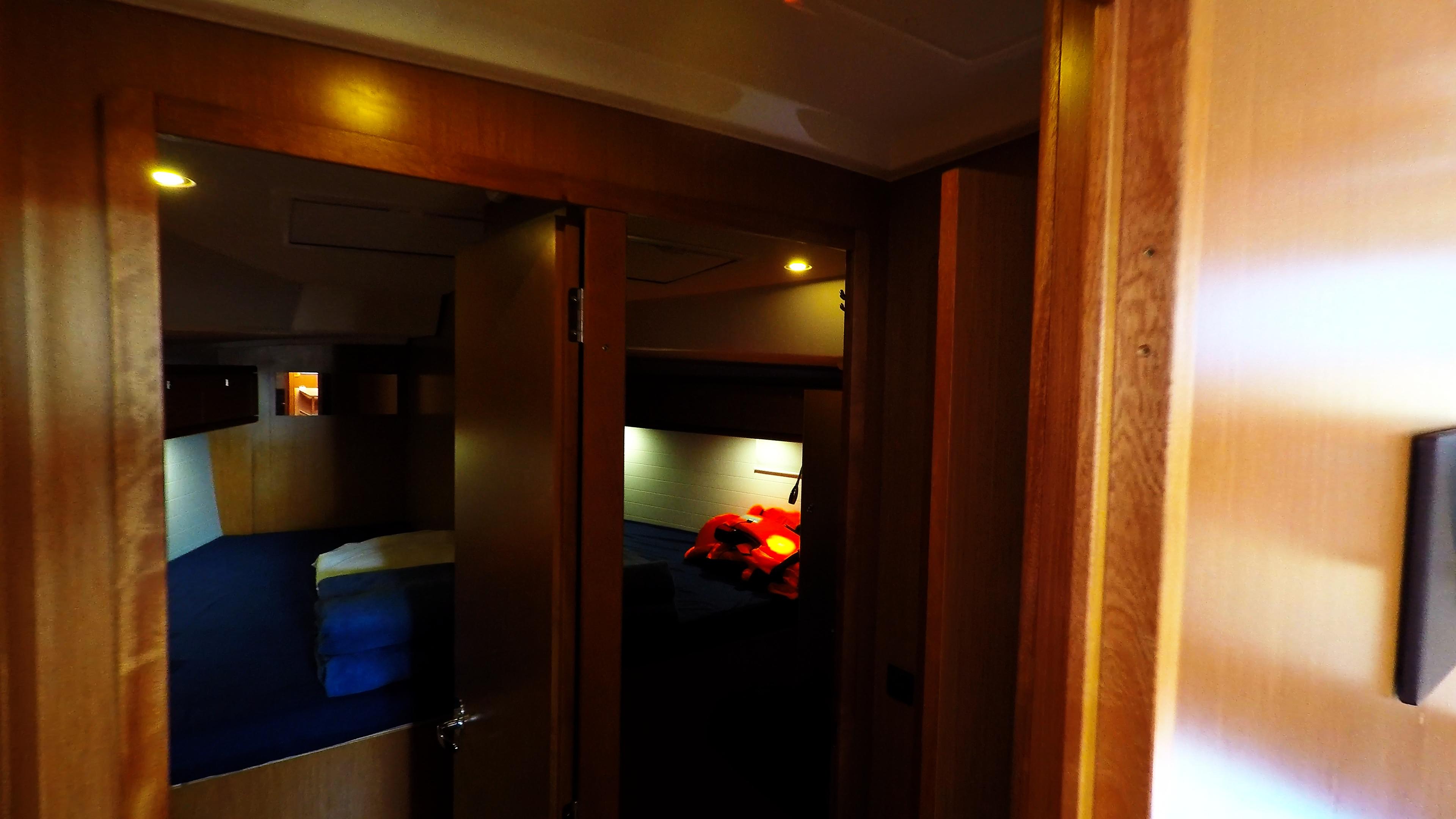 barcha a vela bavaria 46 cabine davanti interno yacht a vela