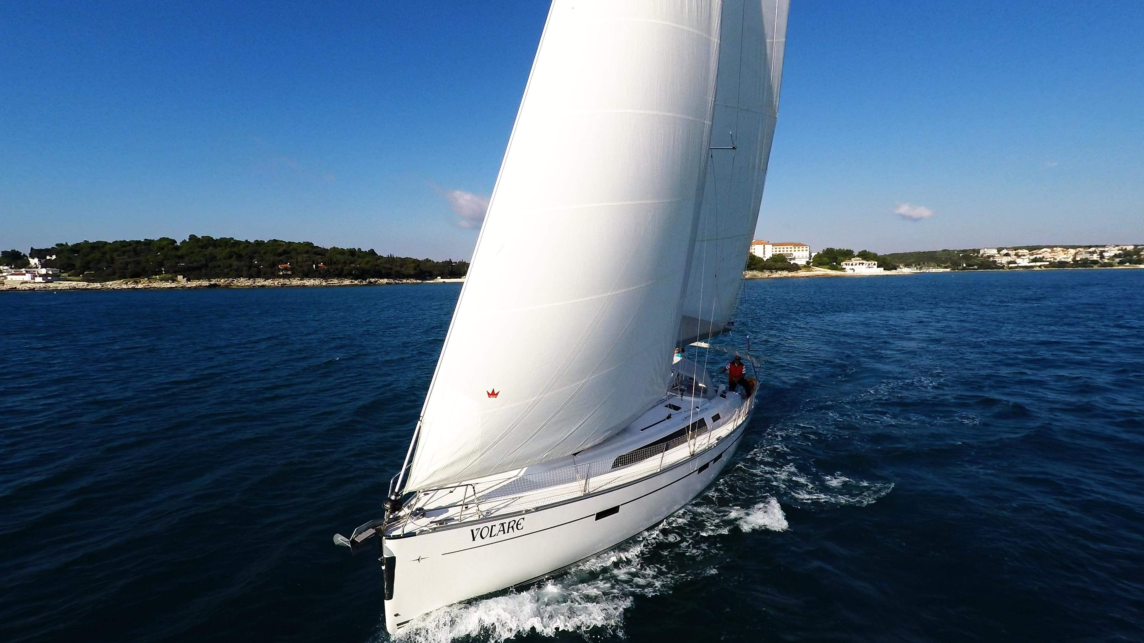 barcha a vela bavaria 46 vela yacht a vela