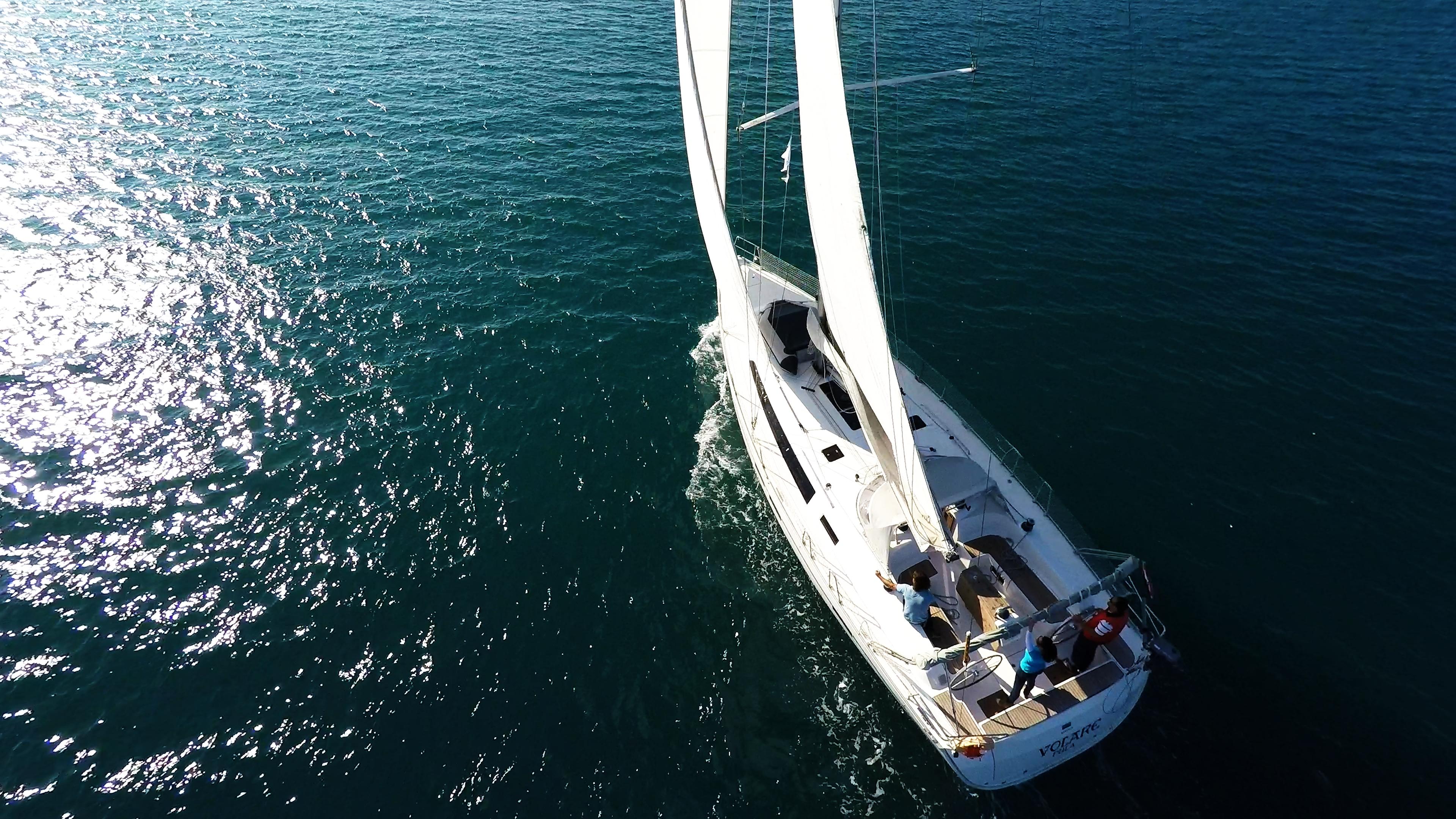 barcha a vela bavaria 46 barca a vela vela ponte teak skipper