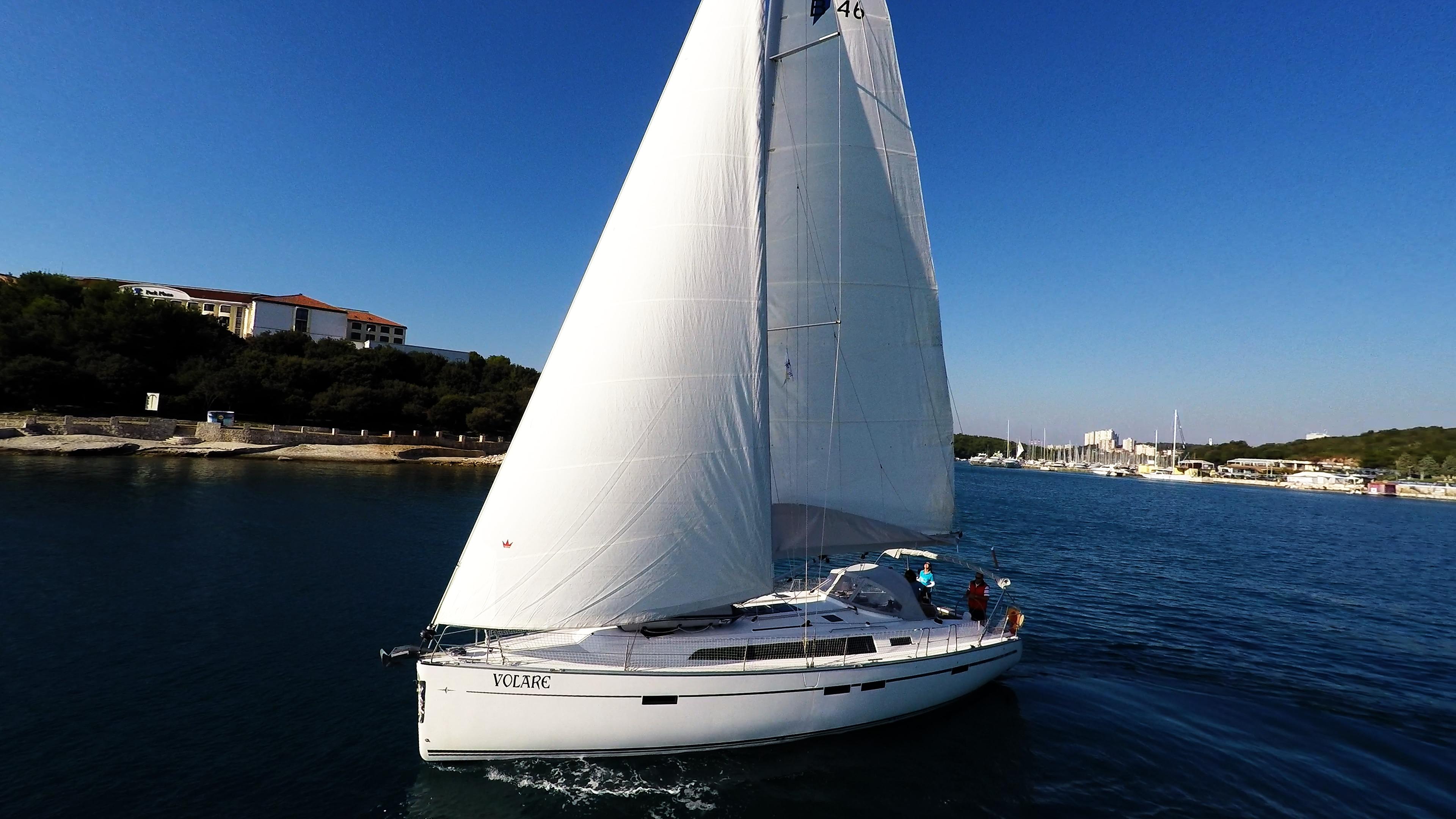 barcha a vela bavaria 46 barca a vela yacht a vela scafo