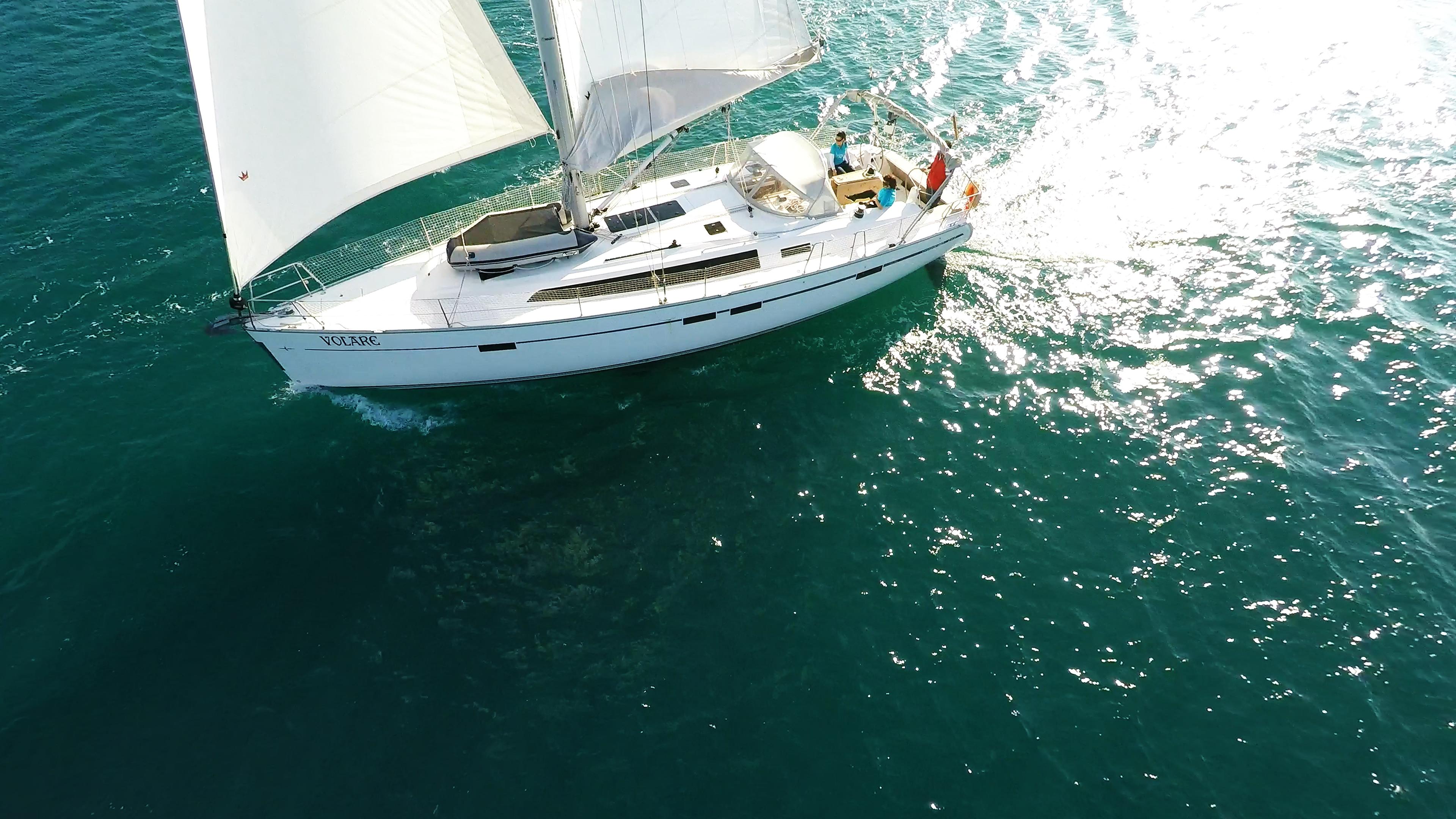 barcha a vela bavaria 46 barca a vela vele di yacht a vela mare