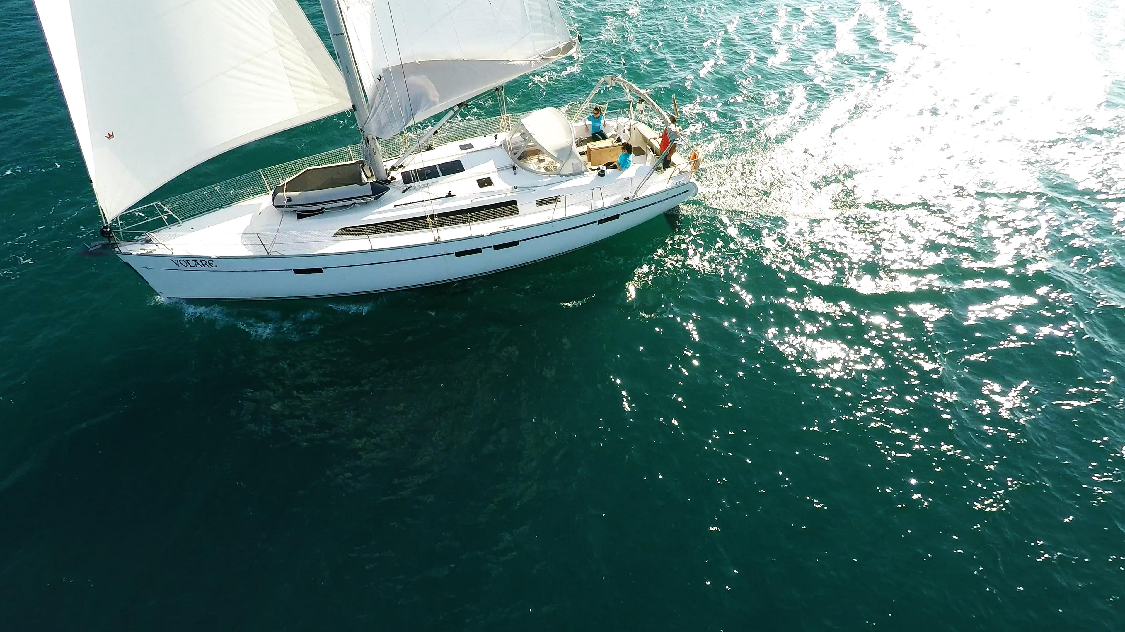 barcha a vela bavaria 46 barca a vela yacht a vela sole mare