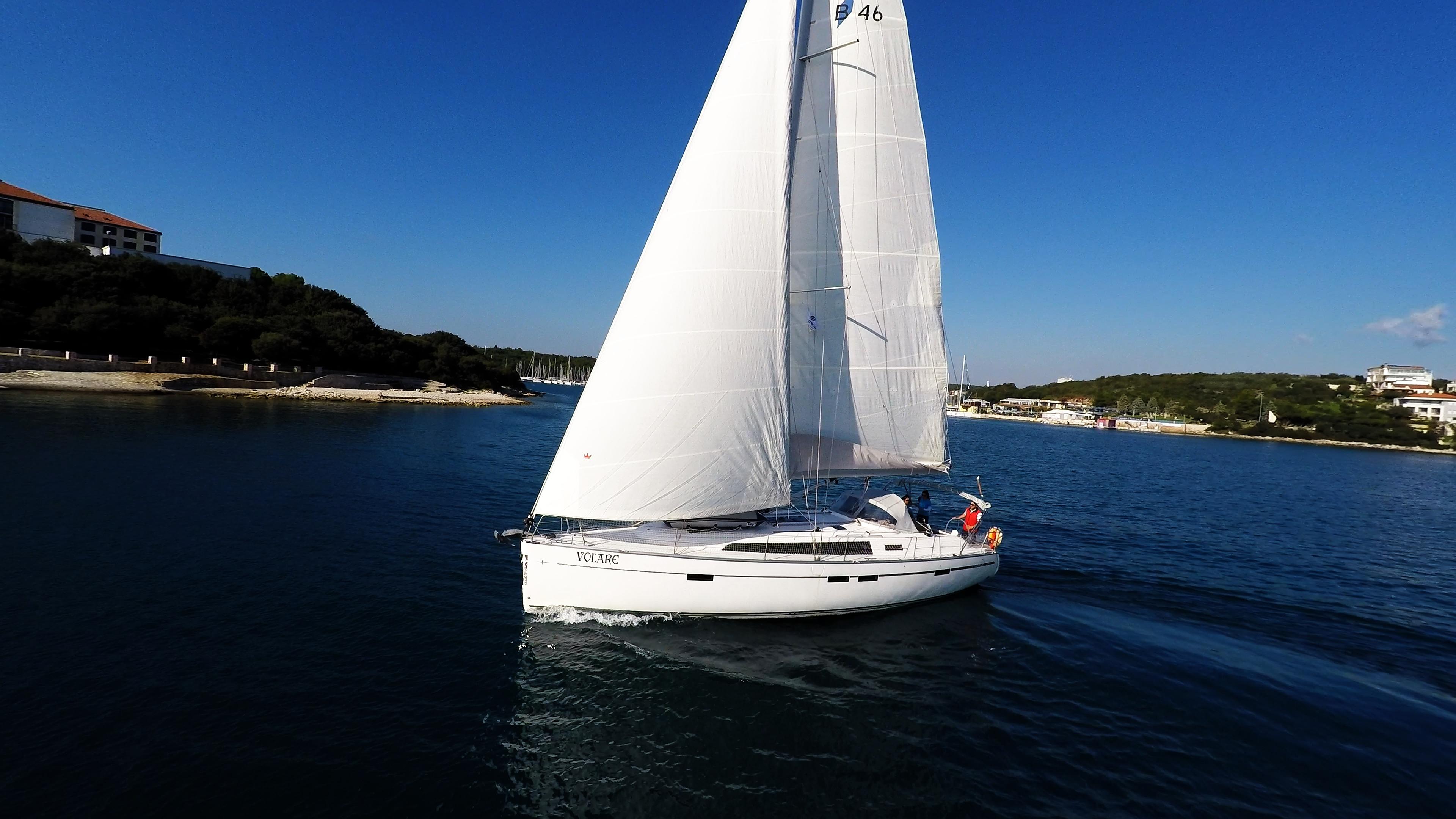 barcha a vela bavaria 46 yacht a vela vela Croazia
