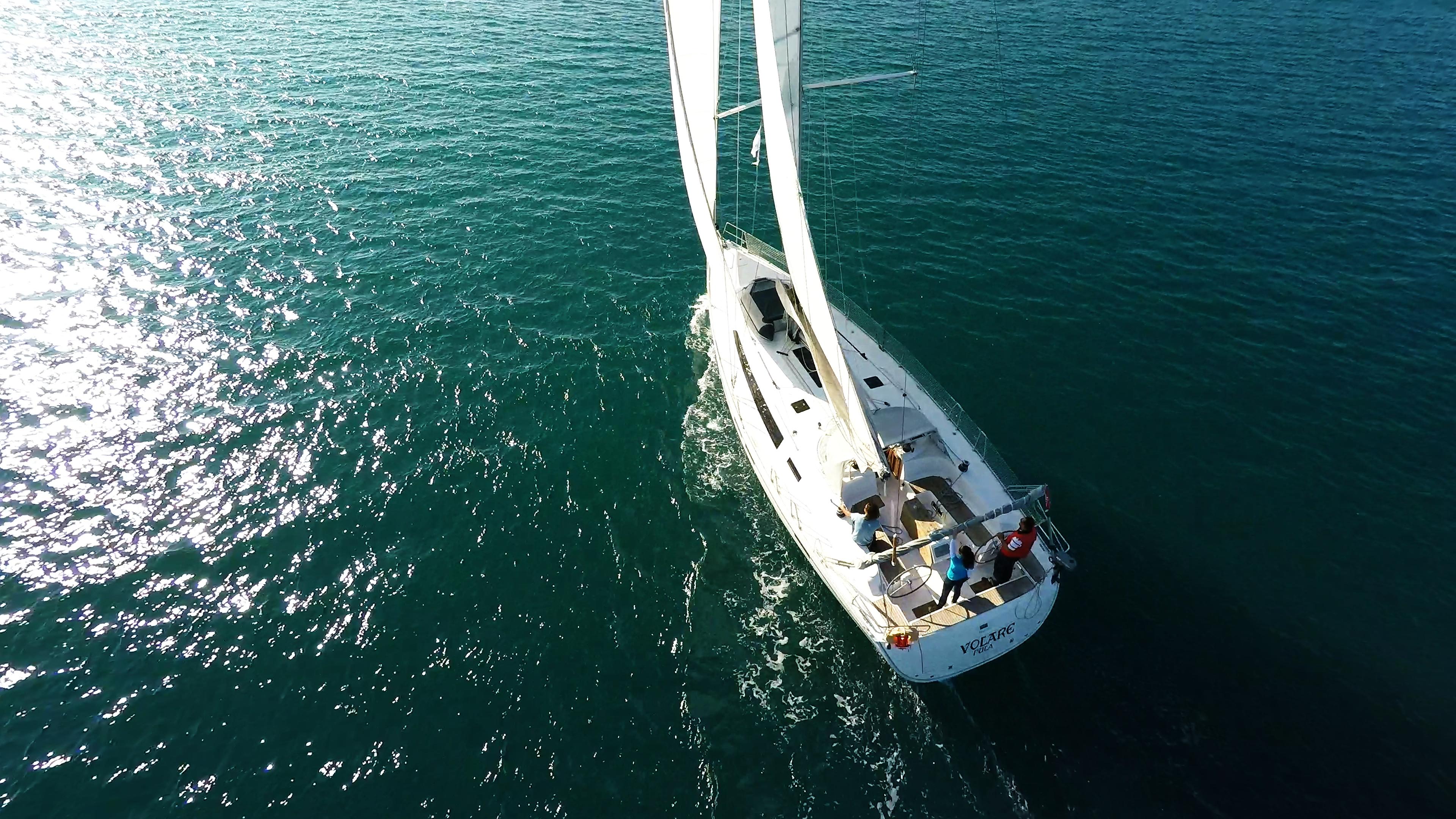 barcha a vela bavaria 46 yacht a vela vela ponte