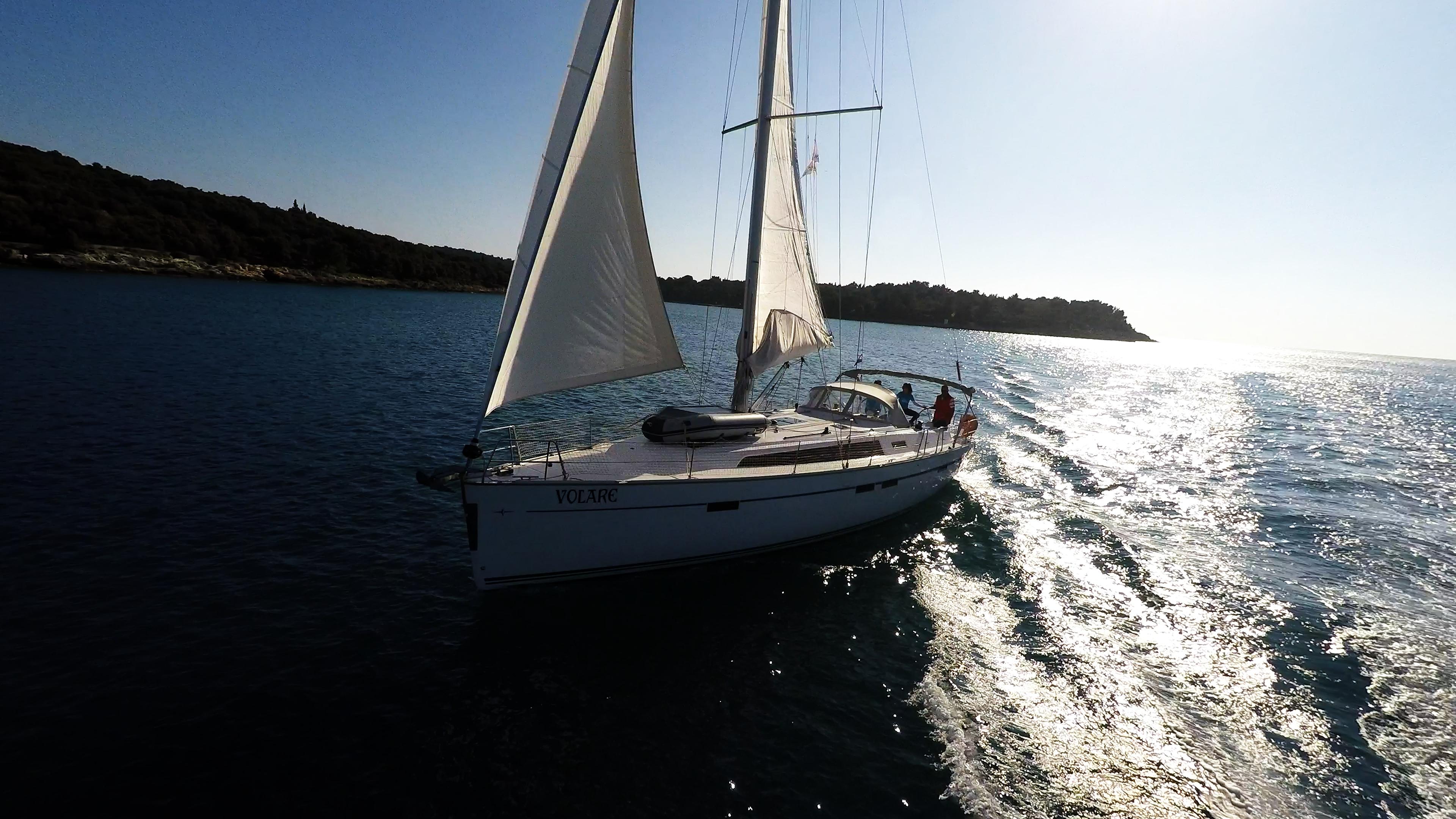 barcha a vela bavaria 46 yacht a vela vela sole