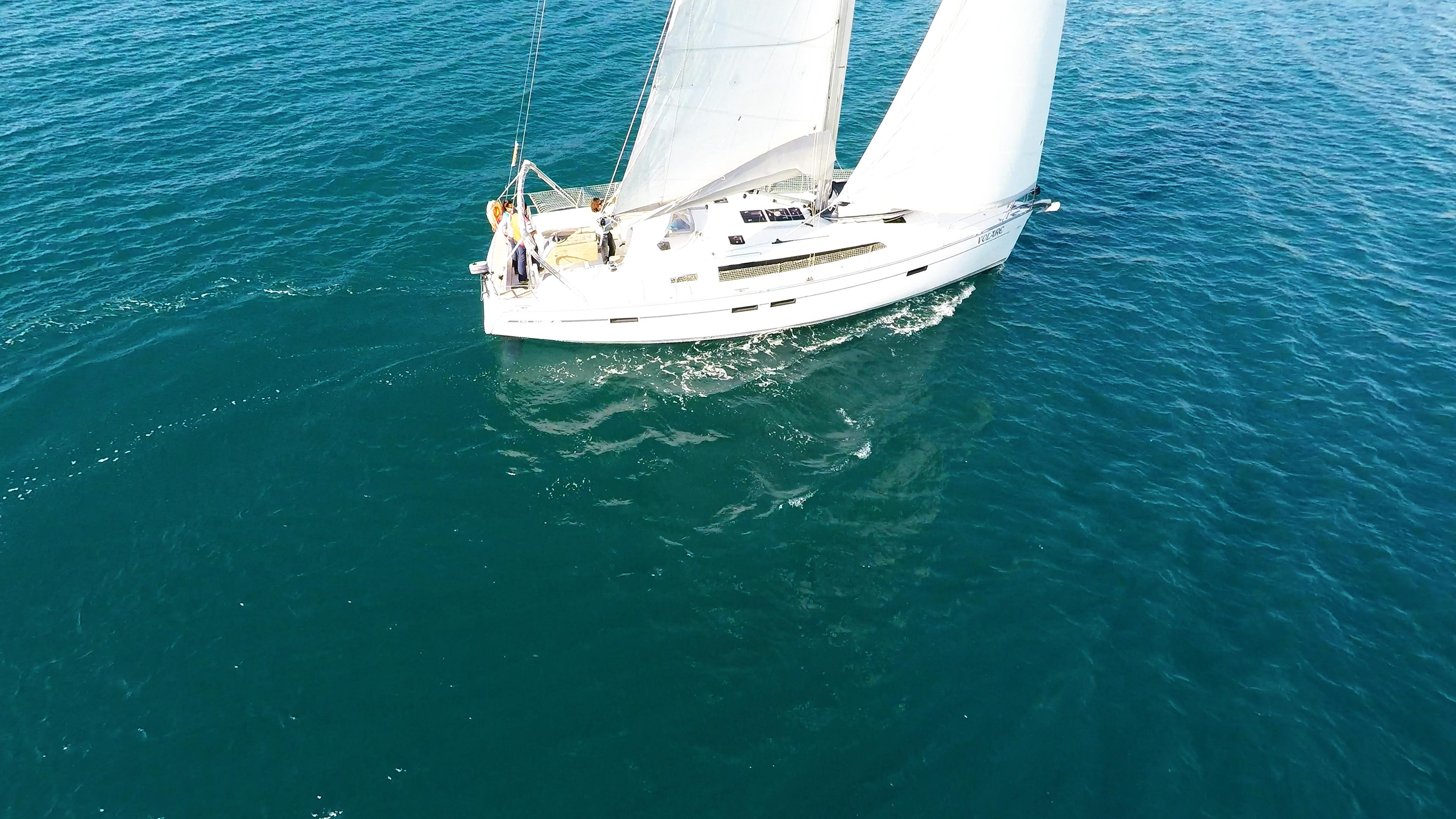 barcha a vela bavaria 46 vele di yacht a vela barca barca a vela