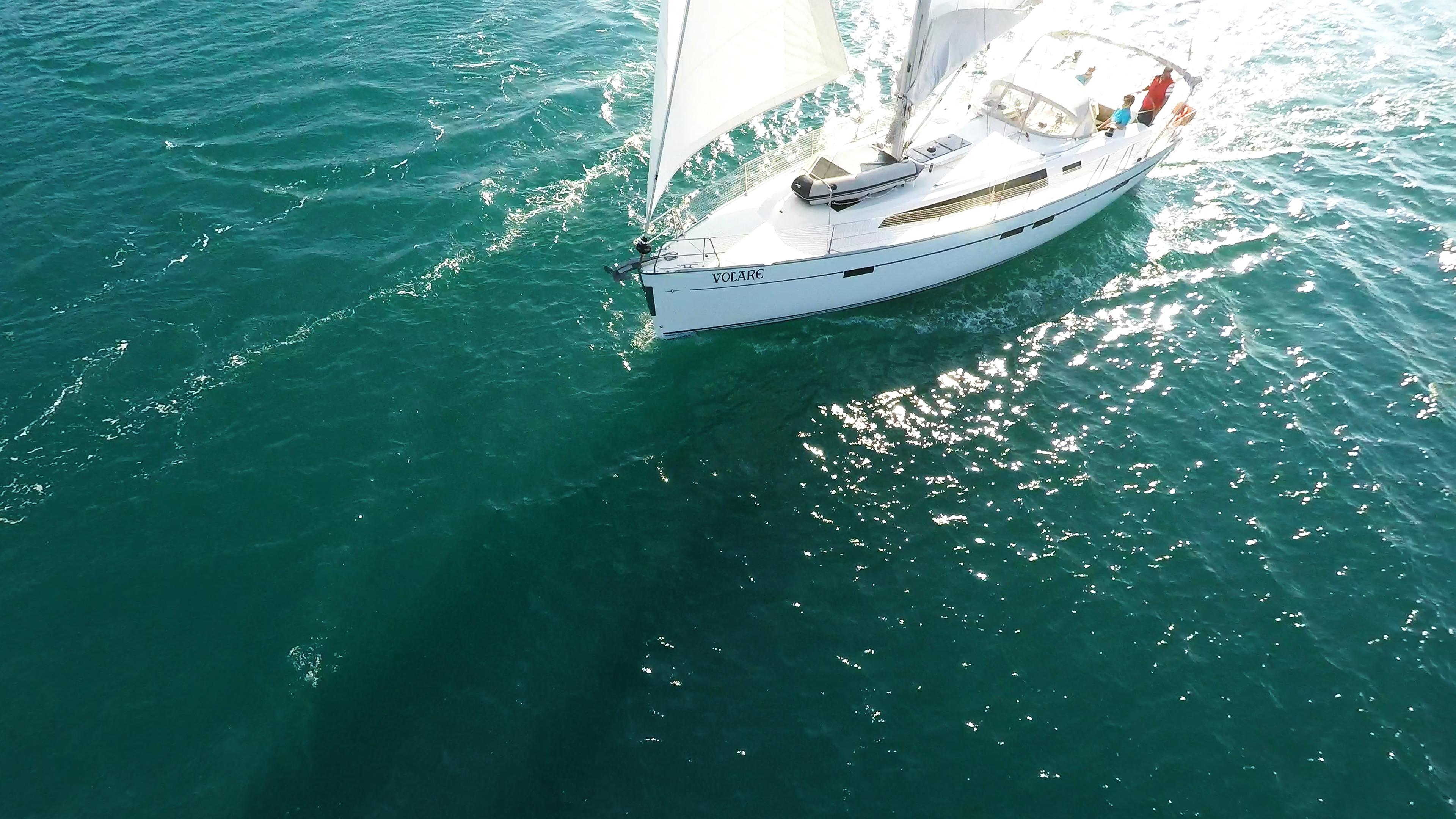 barcha a vela bavaria 46 yacht a vela sole mare