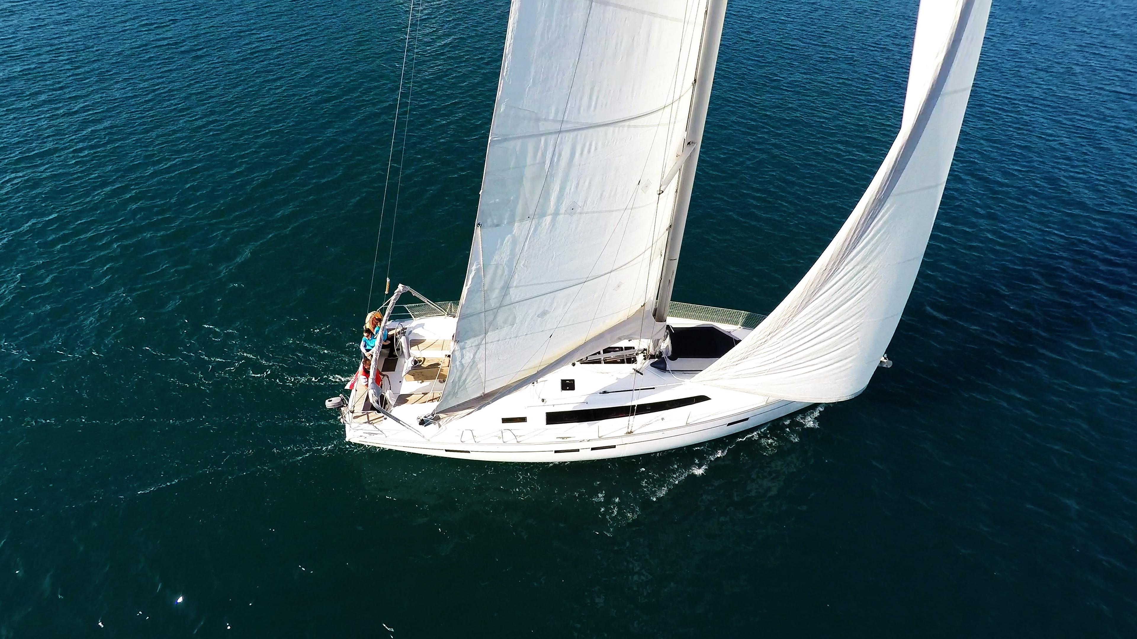 barcha a vela bavaria 46 sotto le vele barca a vela yacht a vela