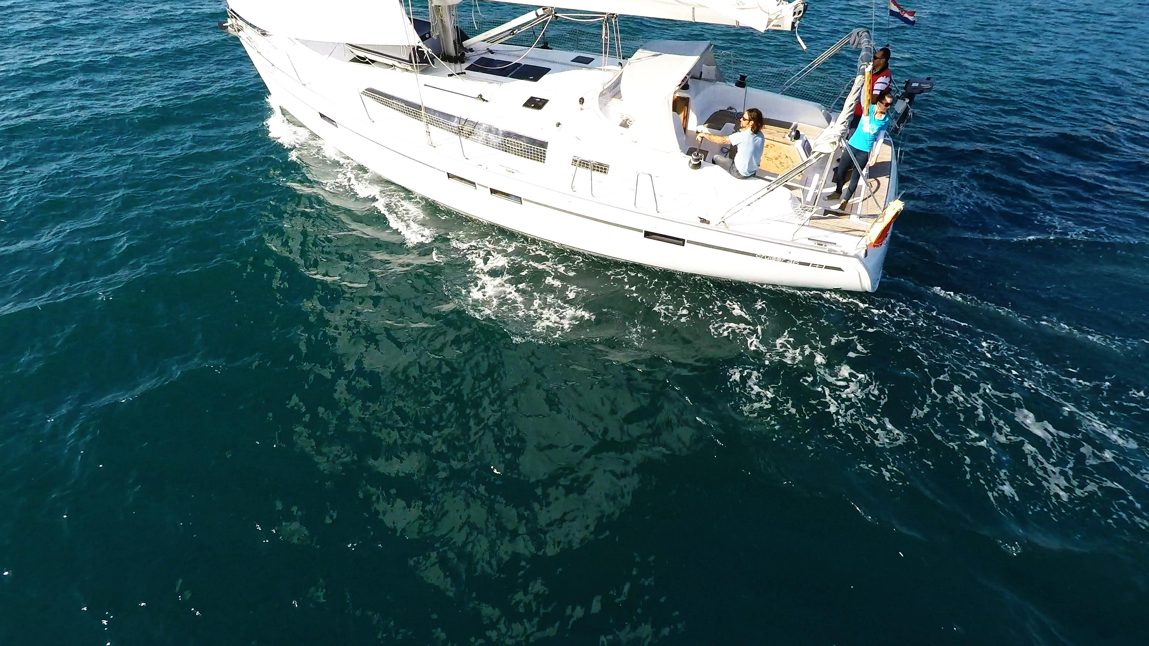 barcha a vela bavaria 46 yacht veleggiare barca a vela