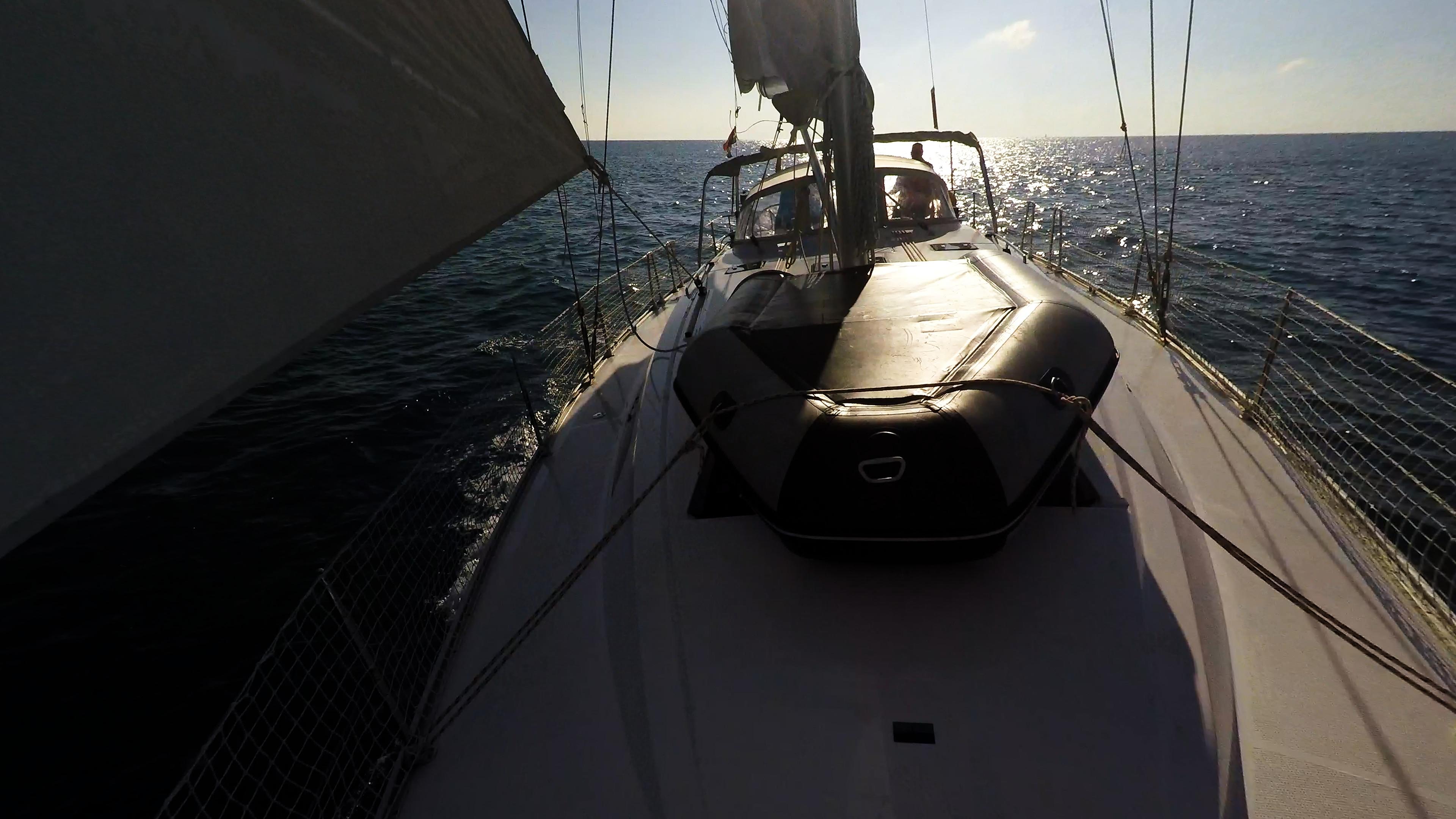 barcha a vela gommone al pontedi yacht a vela bavaria 46 rete di sicurezza vele