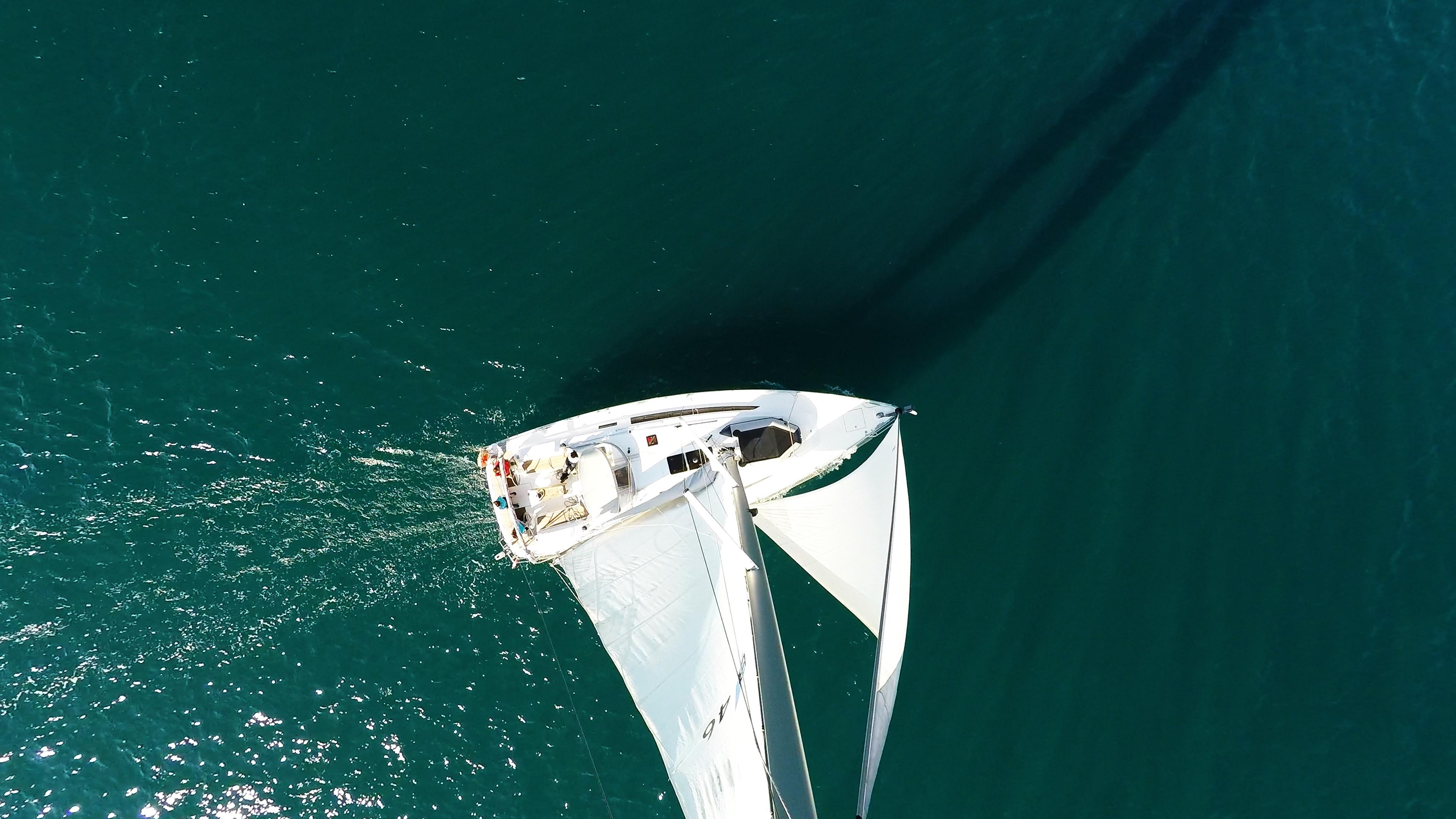 barcha a vela albero barca a vela yacht a vela mare sartiame
