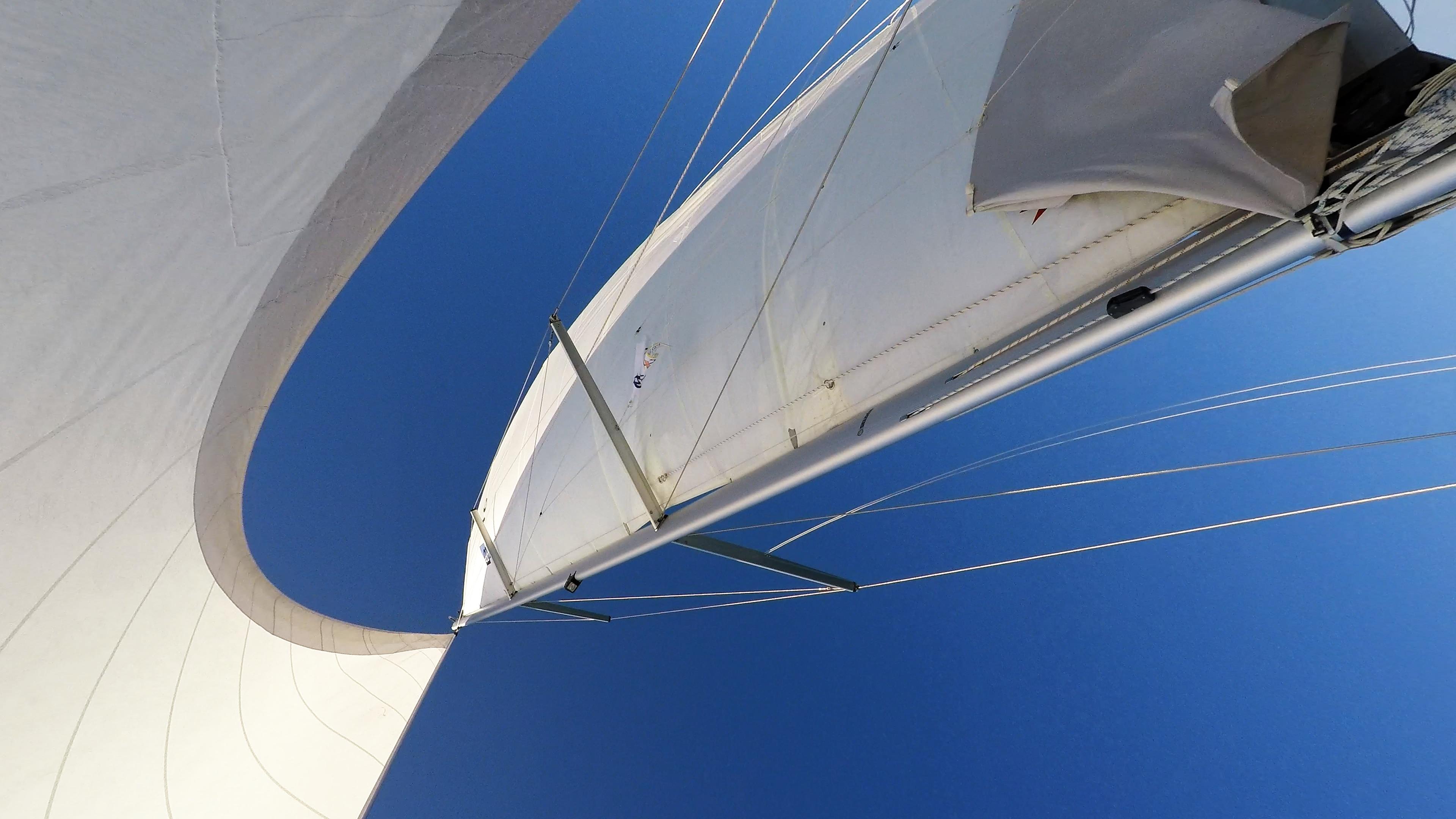 barcha a vela albero vele yacht a vela