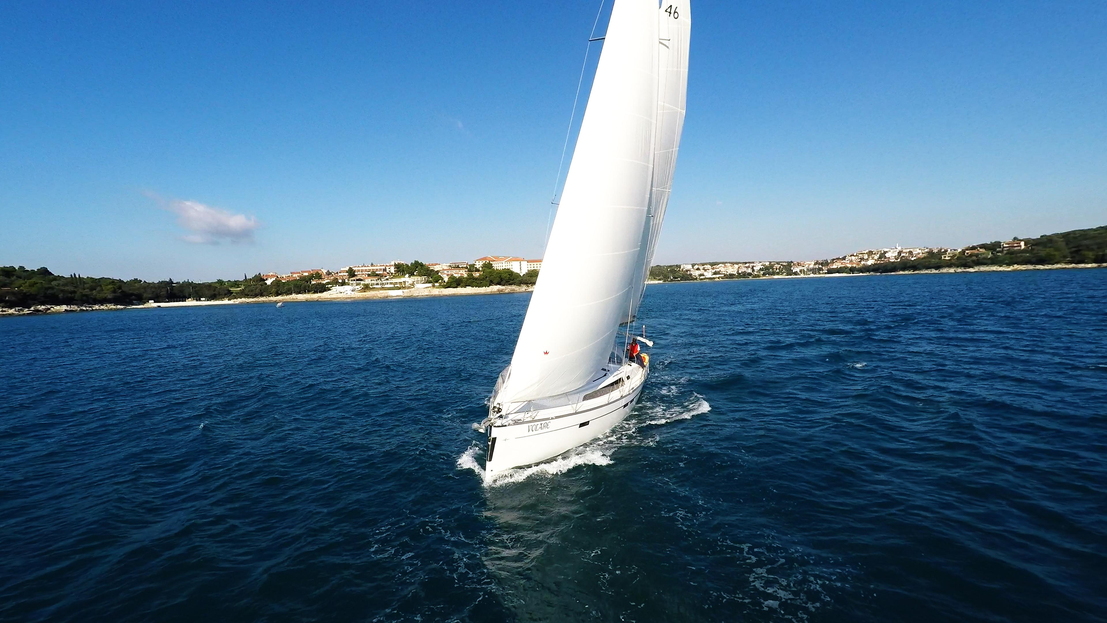 barcha a vela vela barca a vela bavaria 46 cruiser yacht a vela Croazia