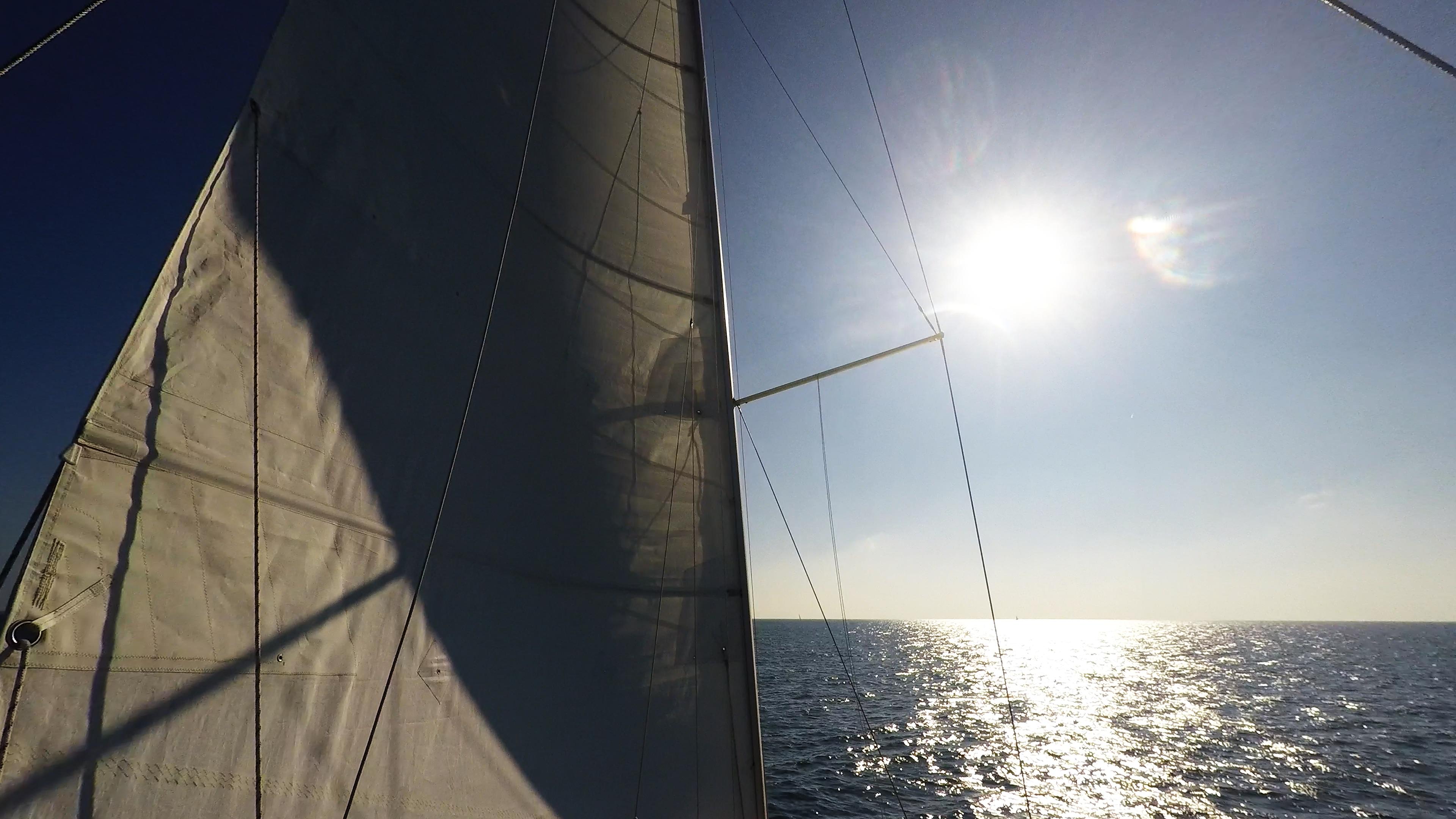 barcha a vela vela sole cielo