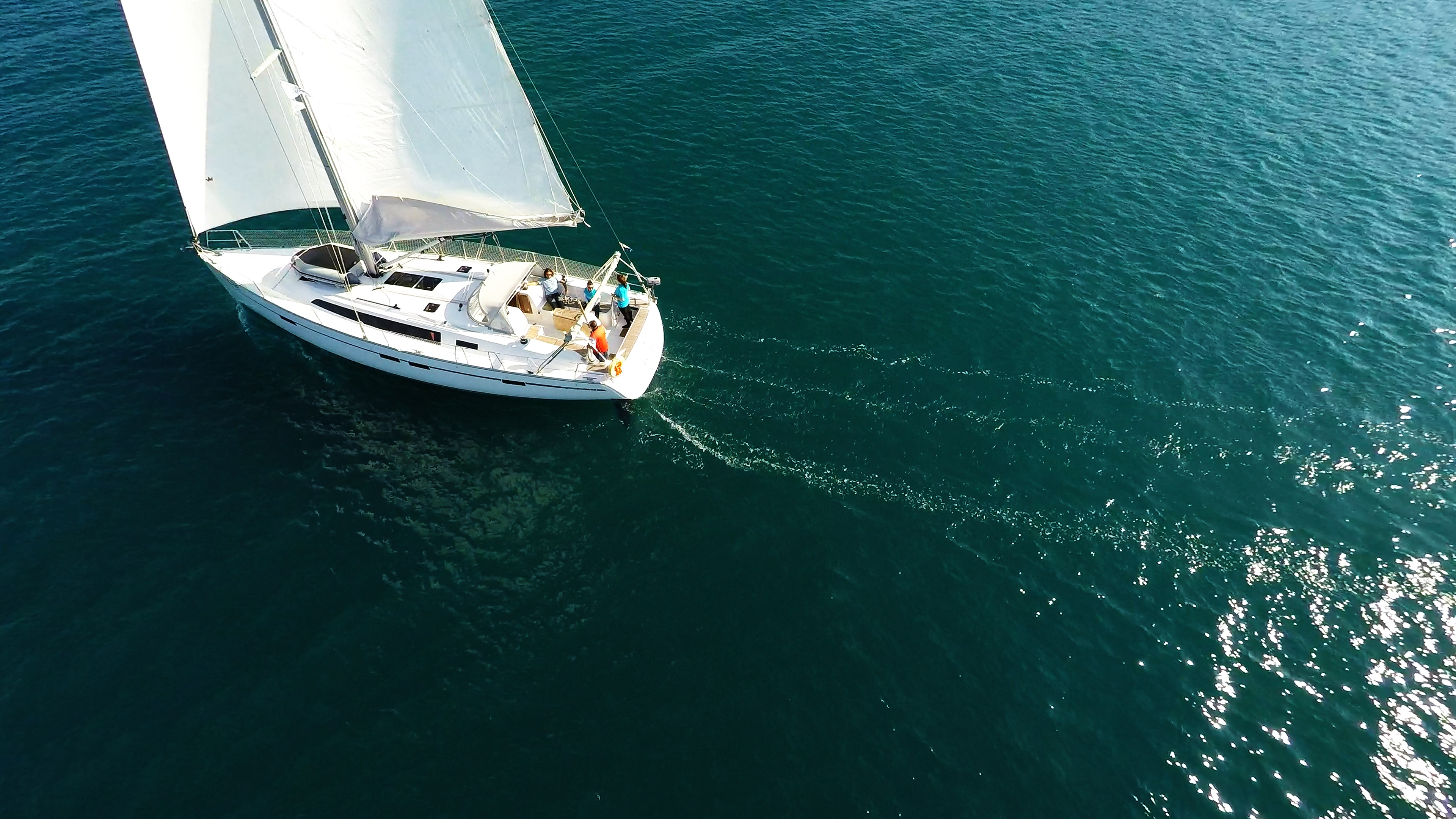 barcha a vela vela yachting yacht a vela bavaria 46 barca