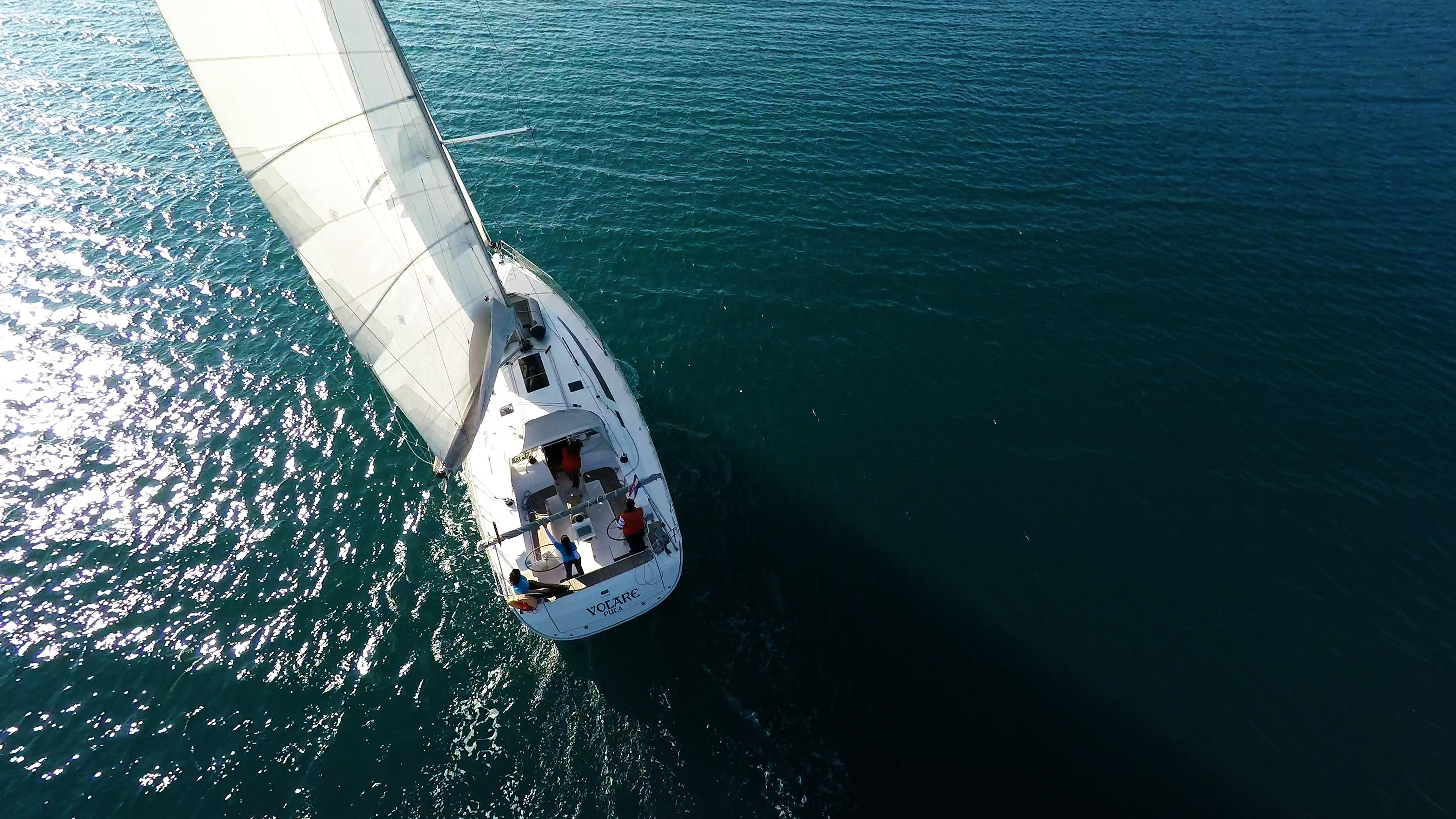 barcha a vela barca a vela bavaria 46 veleggiare mare