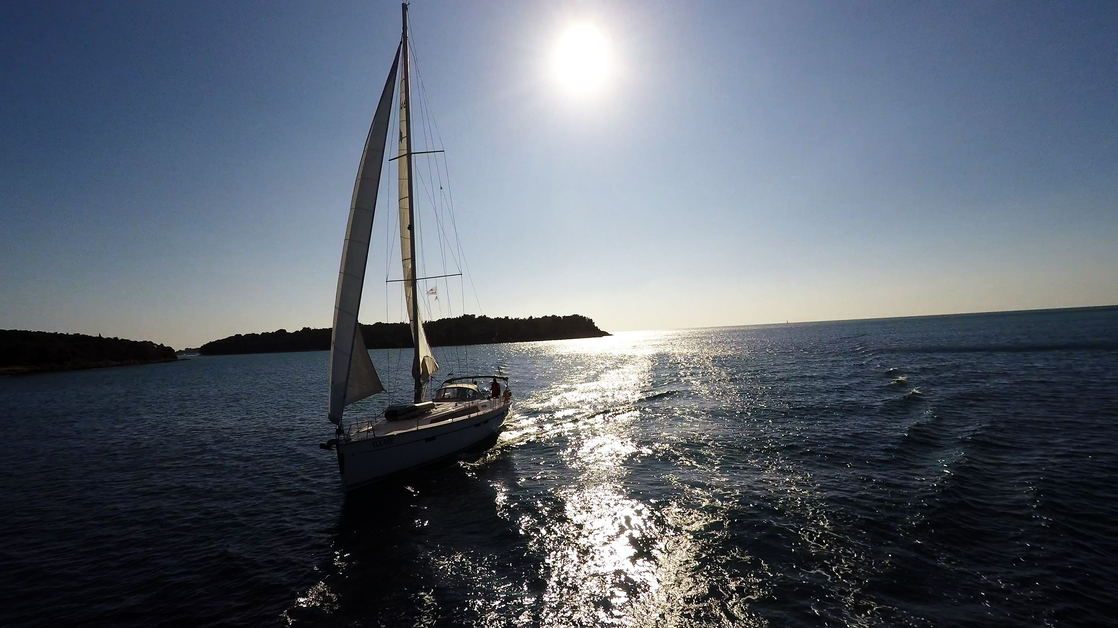 barcha a vela barca a vela isola yacht a vela Croazia