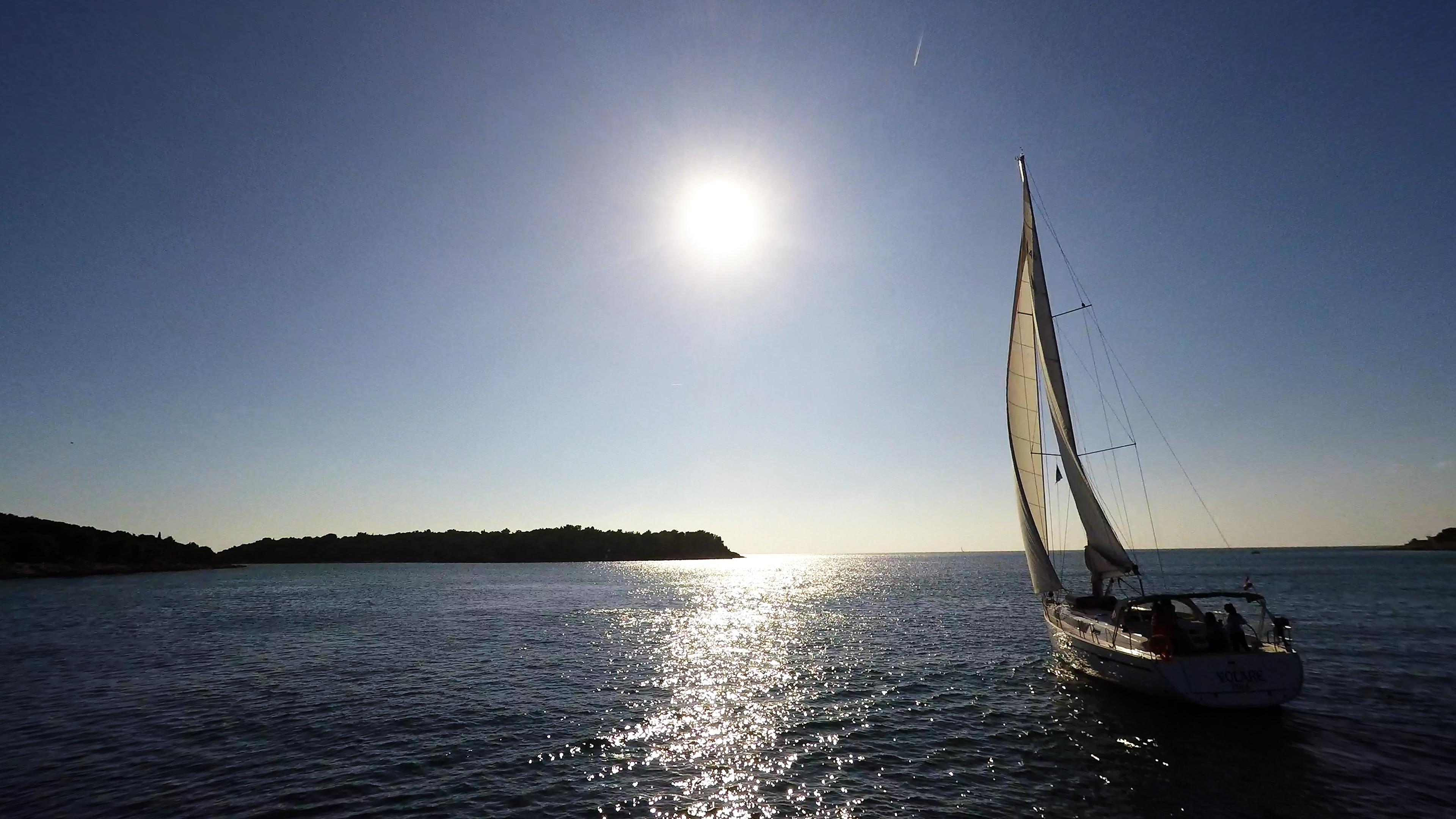 barcha a vela barca a vela isola sole mare