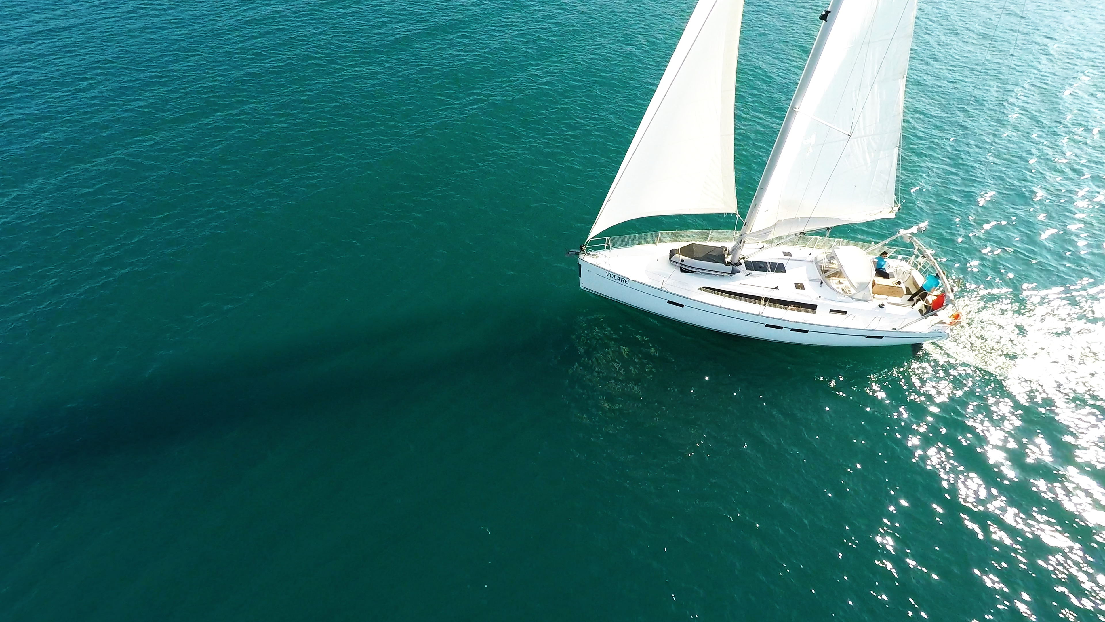 barcha a vela vele della barca a vela bavaria 46 yacht a vela