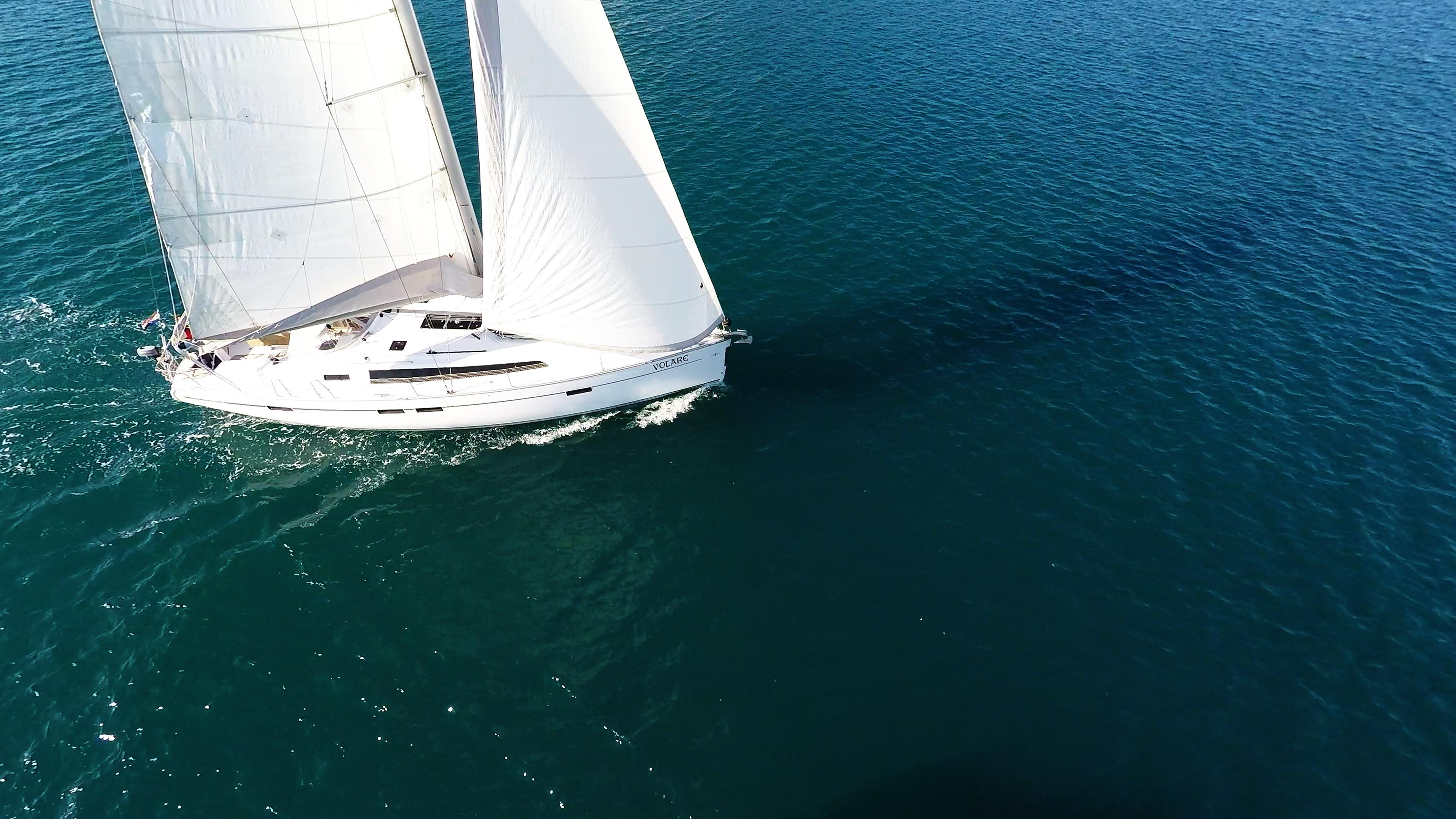 barcha a vela vele della barca a vela