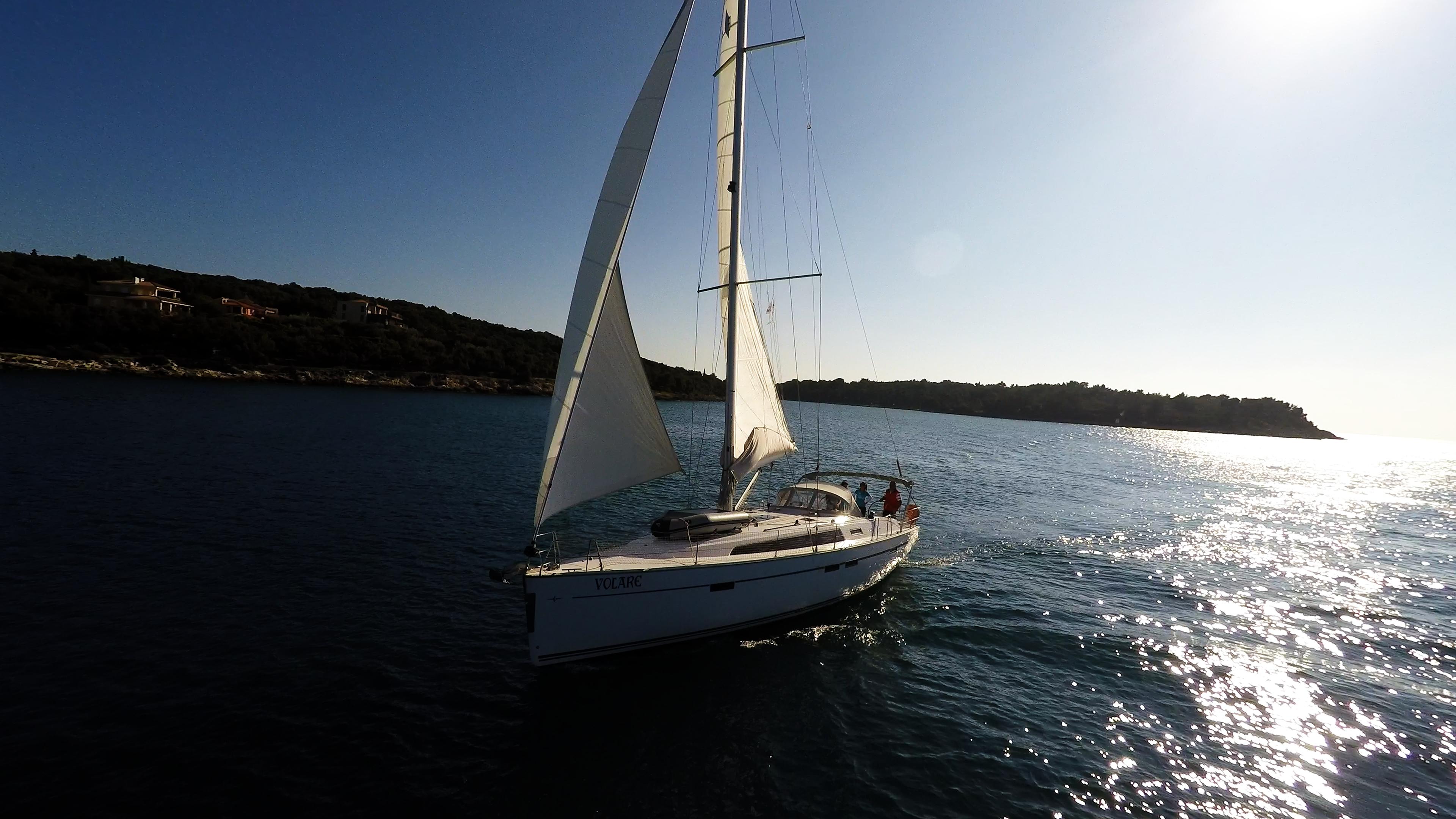 barcha a vela yacht a vela bavaria 46 vela isola Croazia