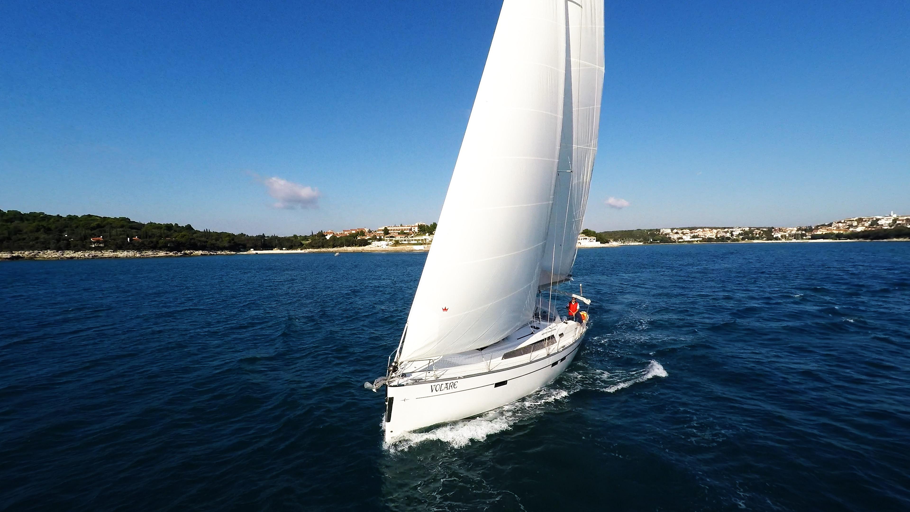 barcha a vela yacht a vela bavaria 46 vela barca a vela mare