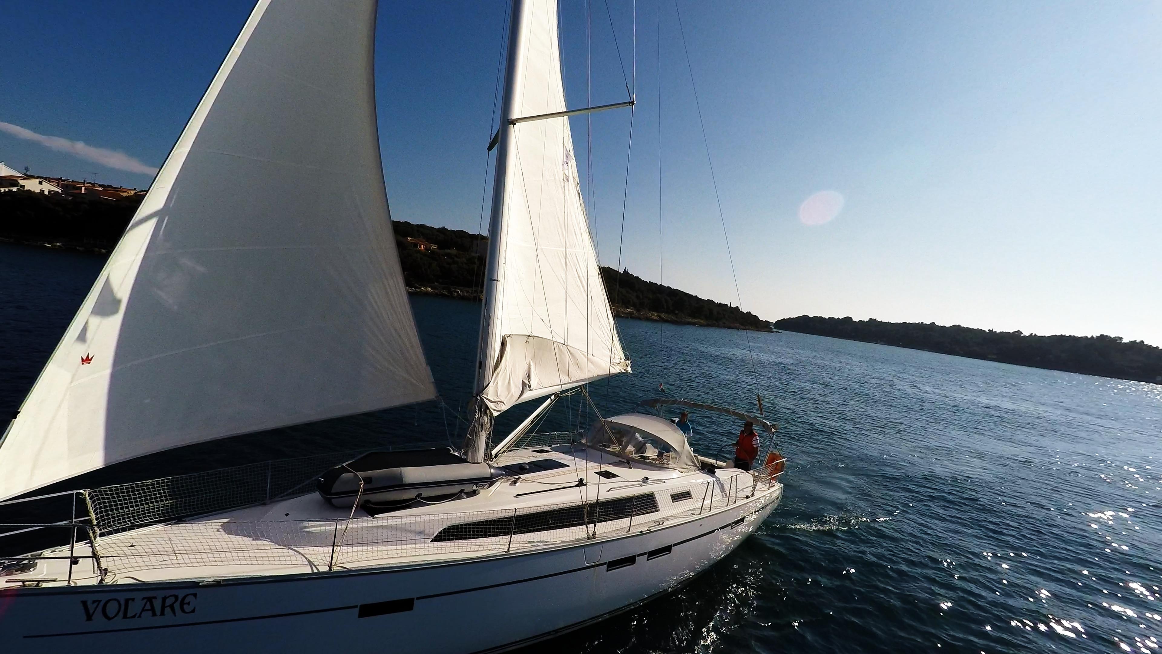 barcha a vela yacht a vela bavaria 46 vela