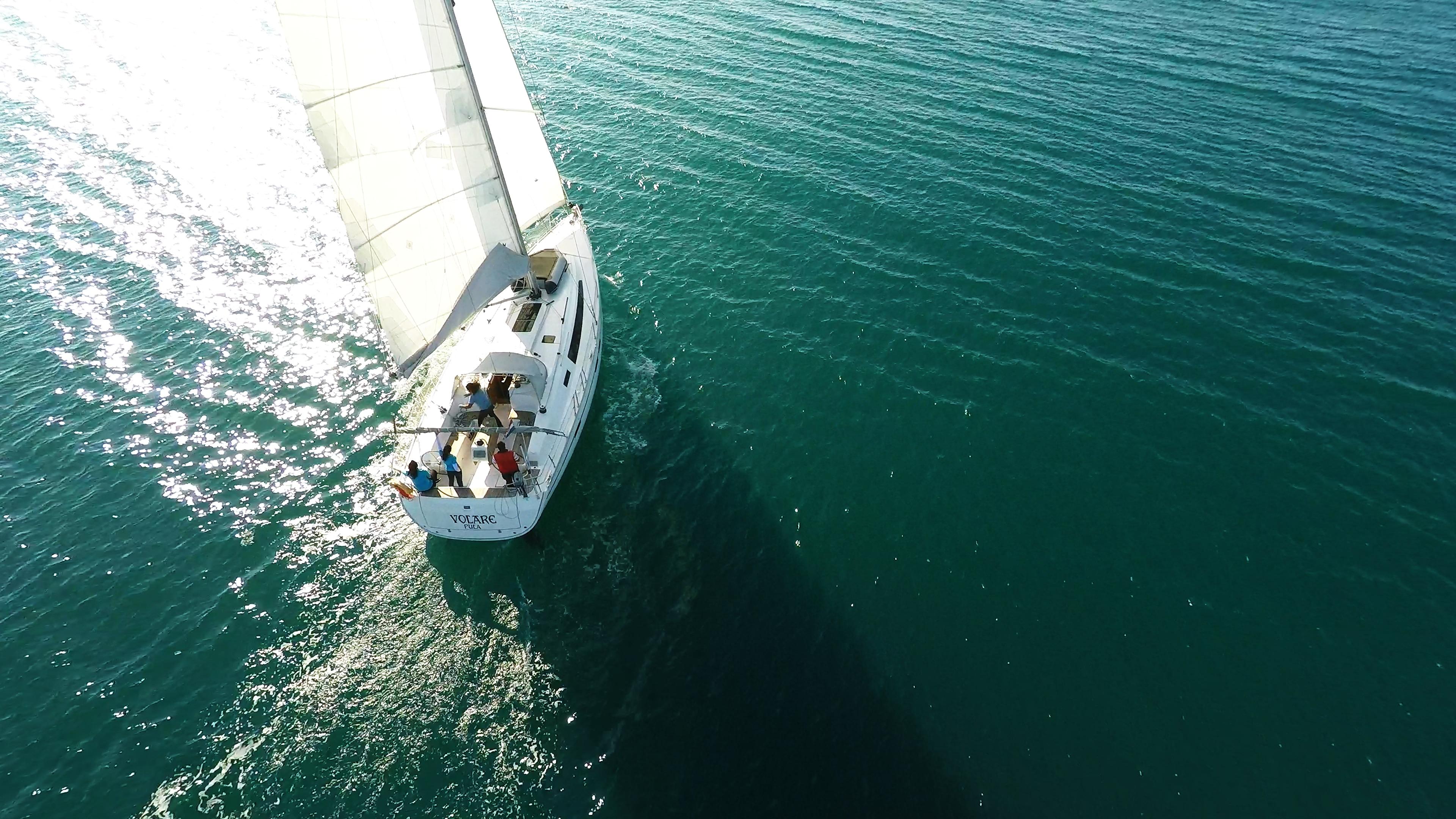 barcha a vela yacht a vela da sopra