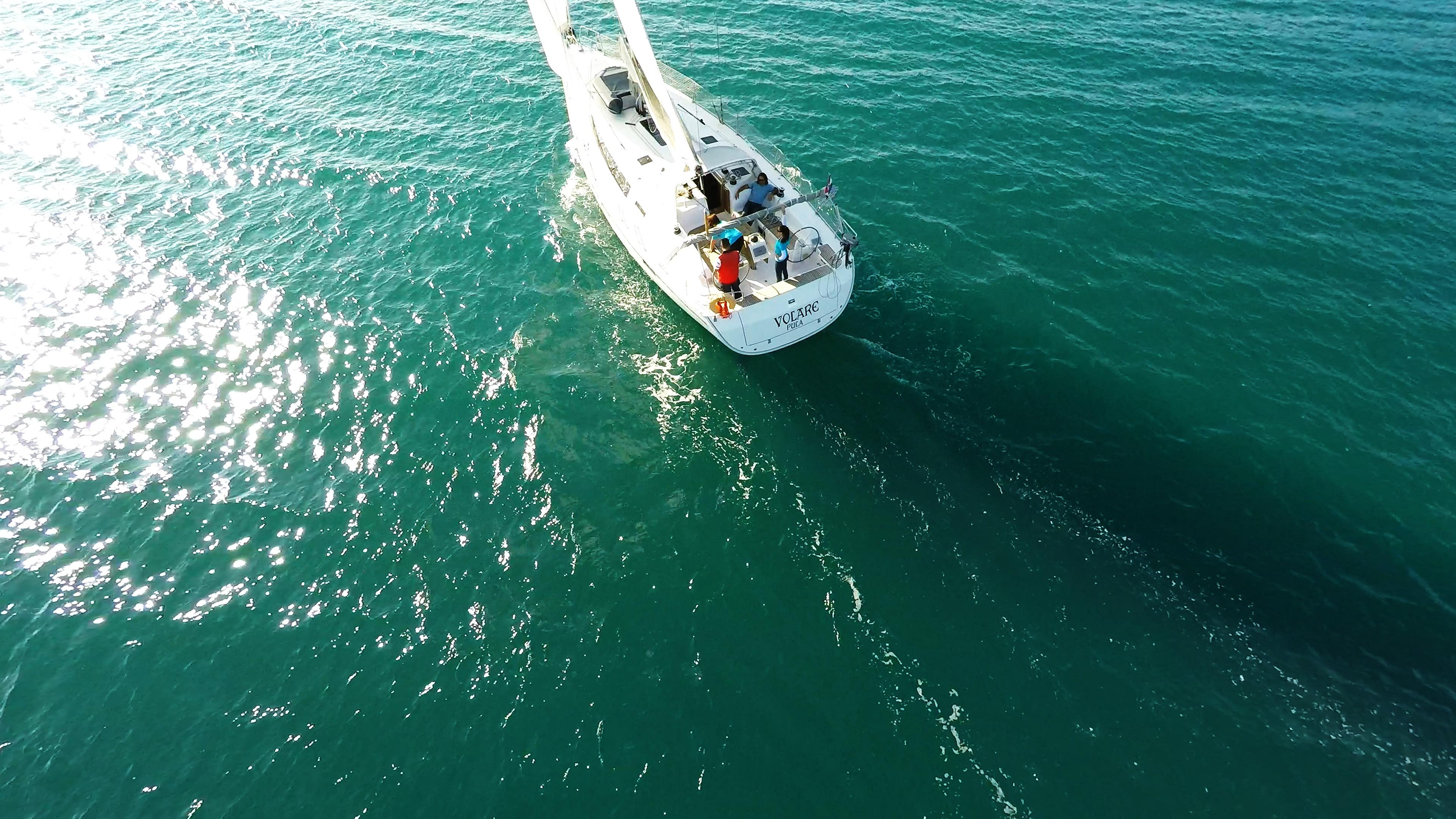 barcha a vela yacht a vela velaal mare