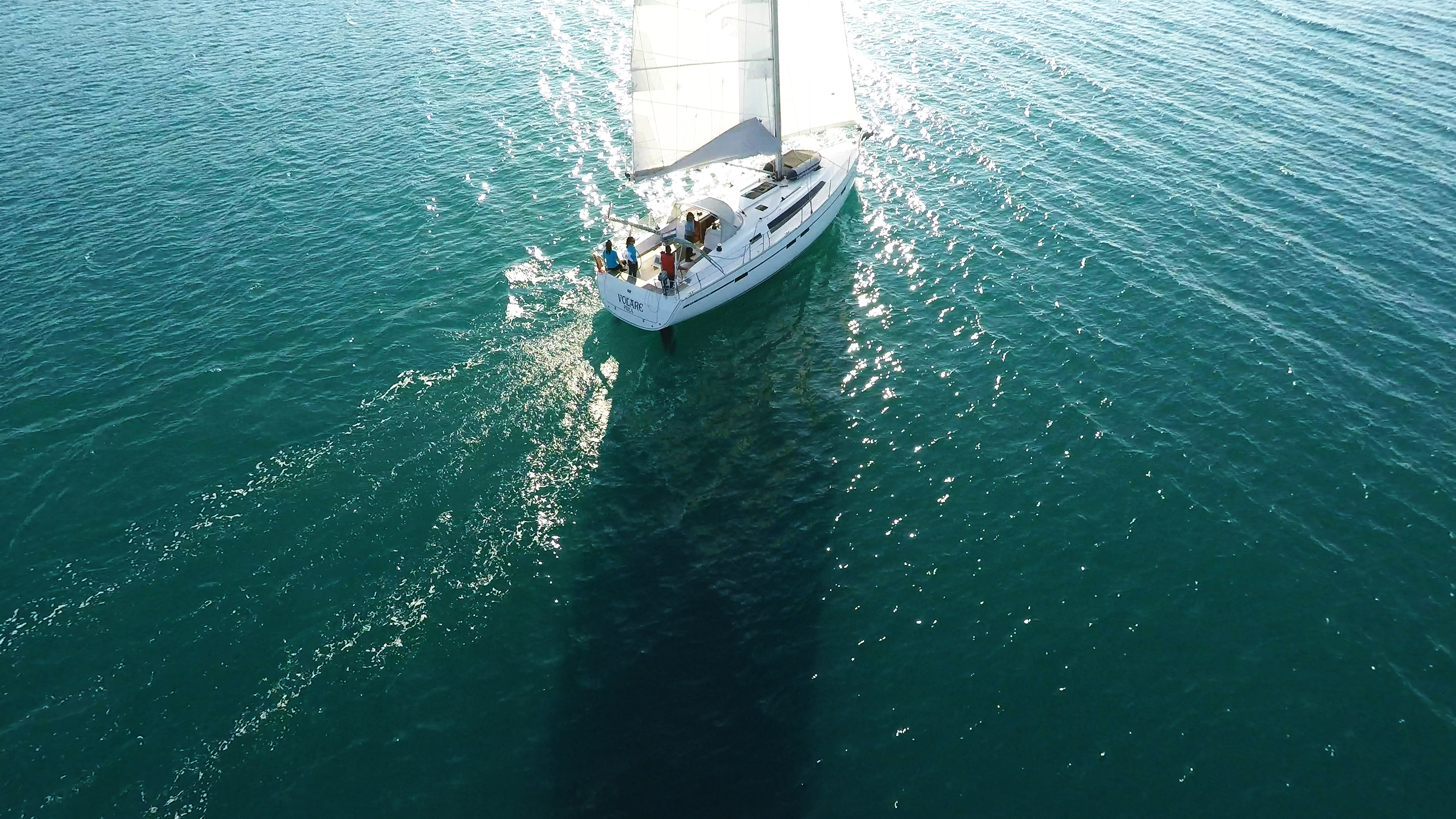 barcha a vela vele di yacht a vela mare