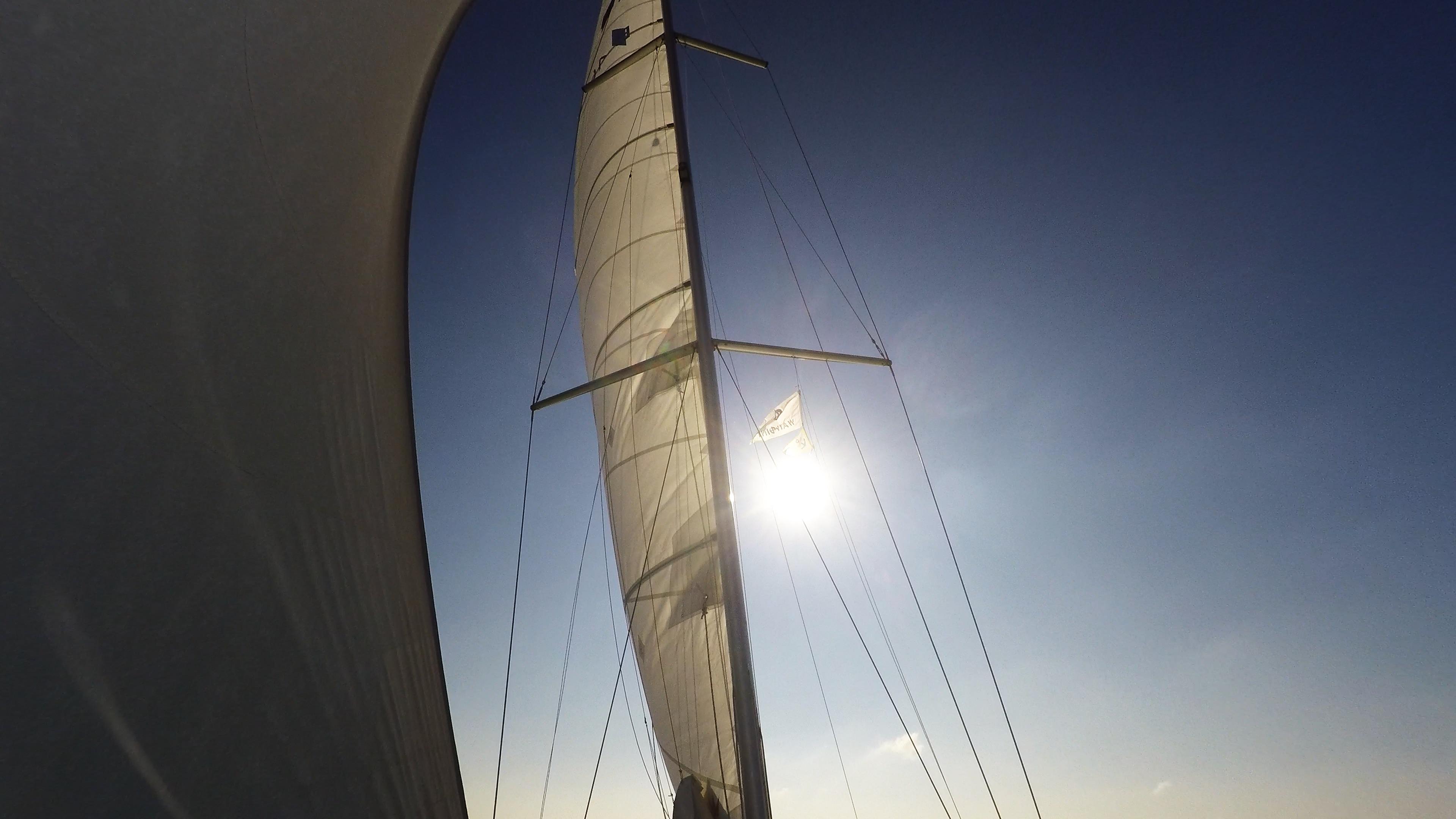 barcha a vela vele albero yacht a vela