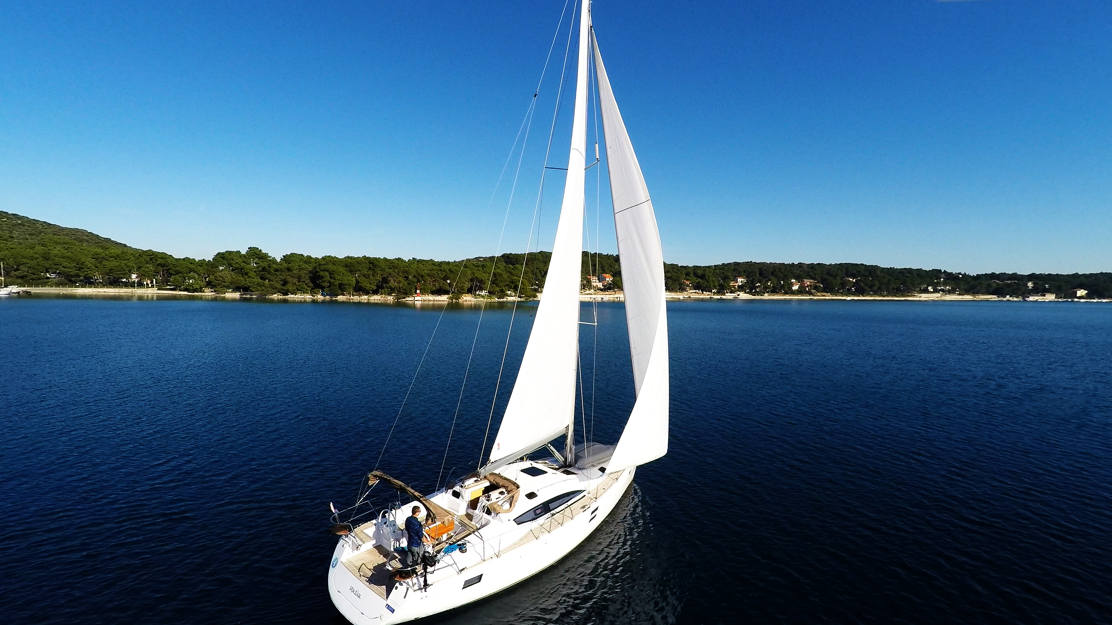 barcha a vela cielo blu yacht a vela elan 45 impression vela barca a vela
